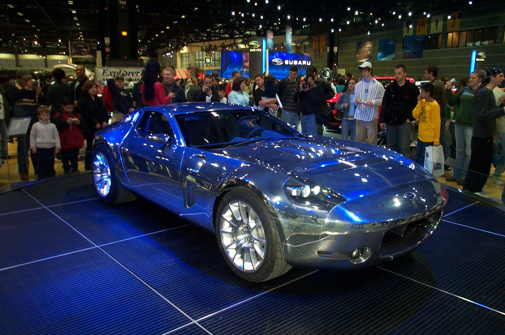 Ford Shelby GR1 Concept Full hd wallpapers