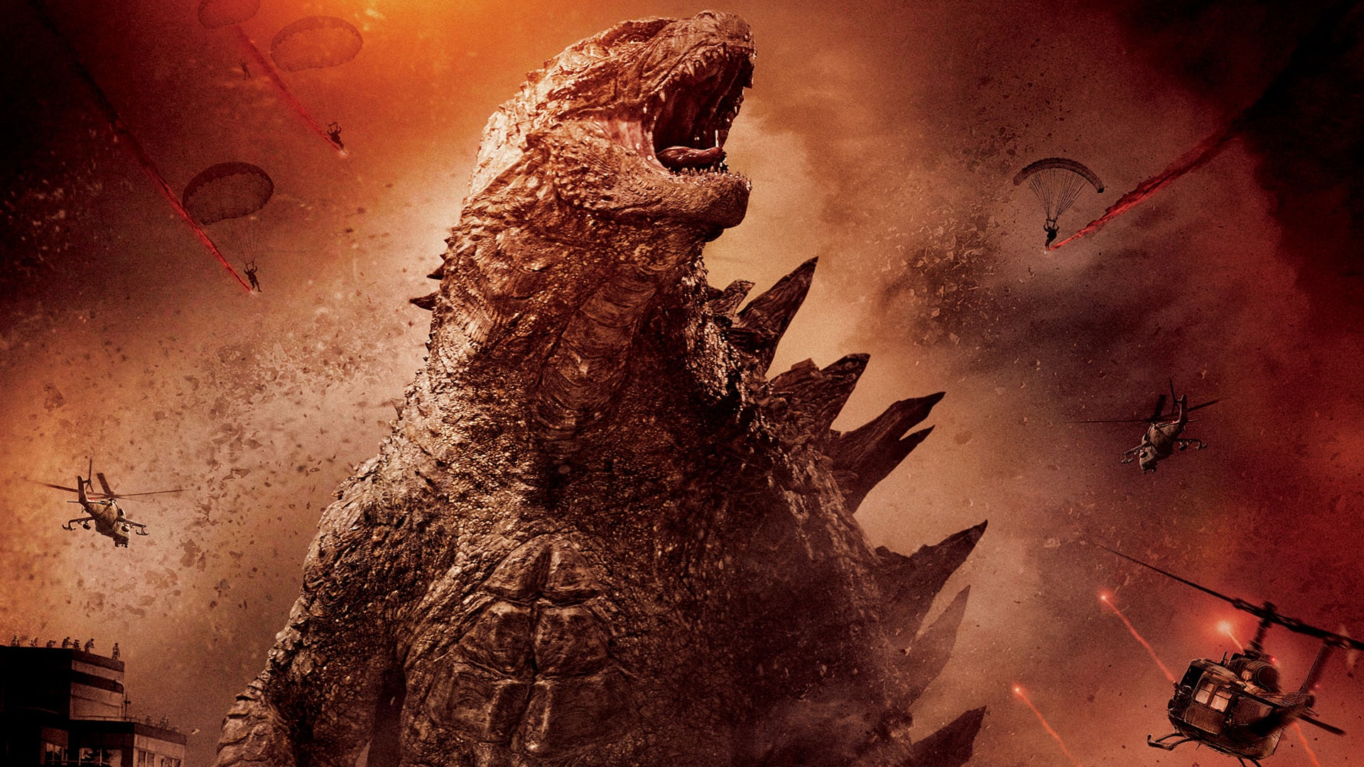 Godzilla 2014 Full hd wallpapers