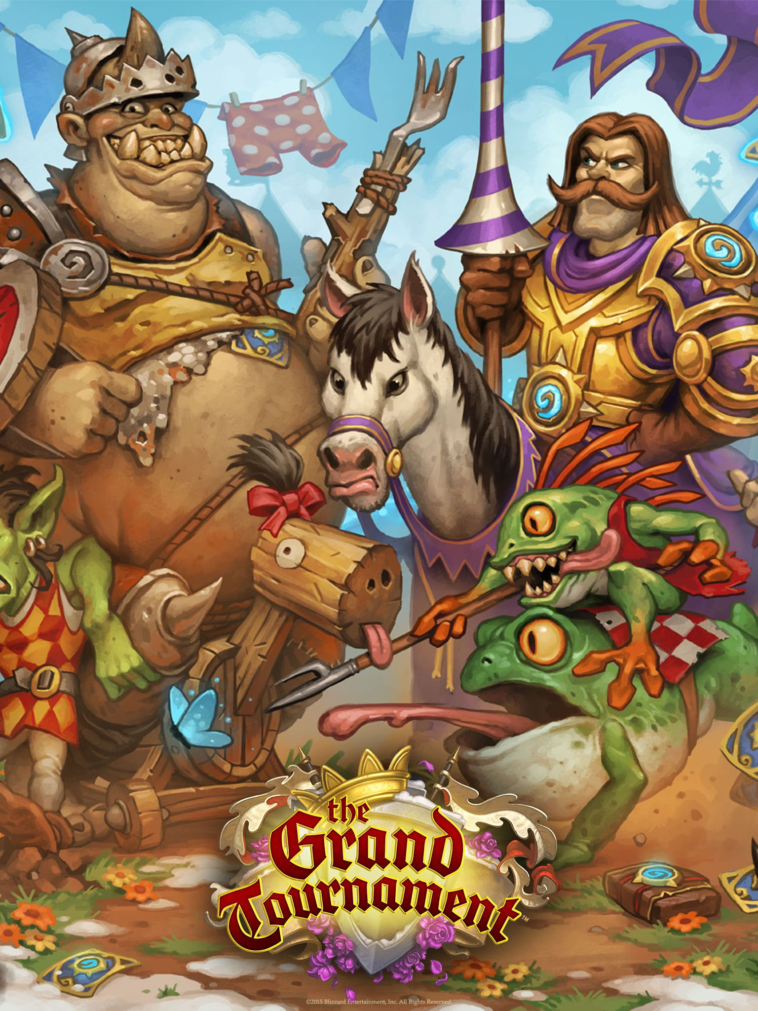 Hearthstone: The Grand Tournament for mobile