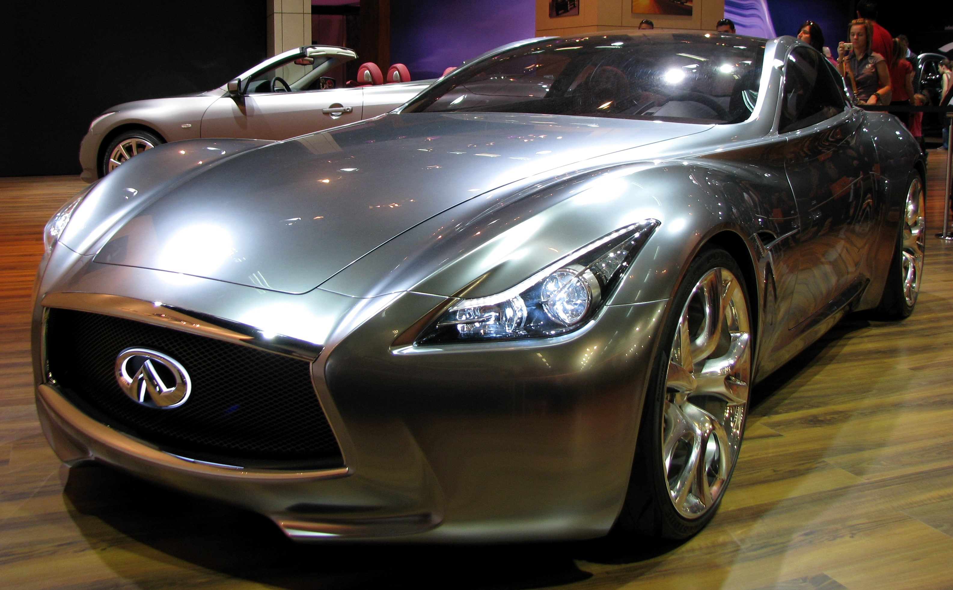 Infiniti Essence Concept Full hd wallpapers