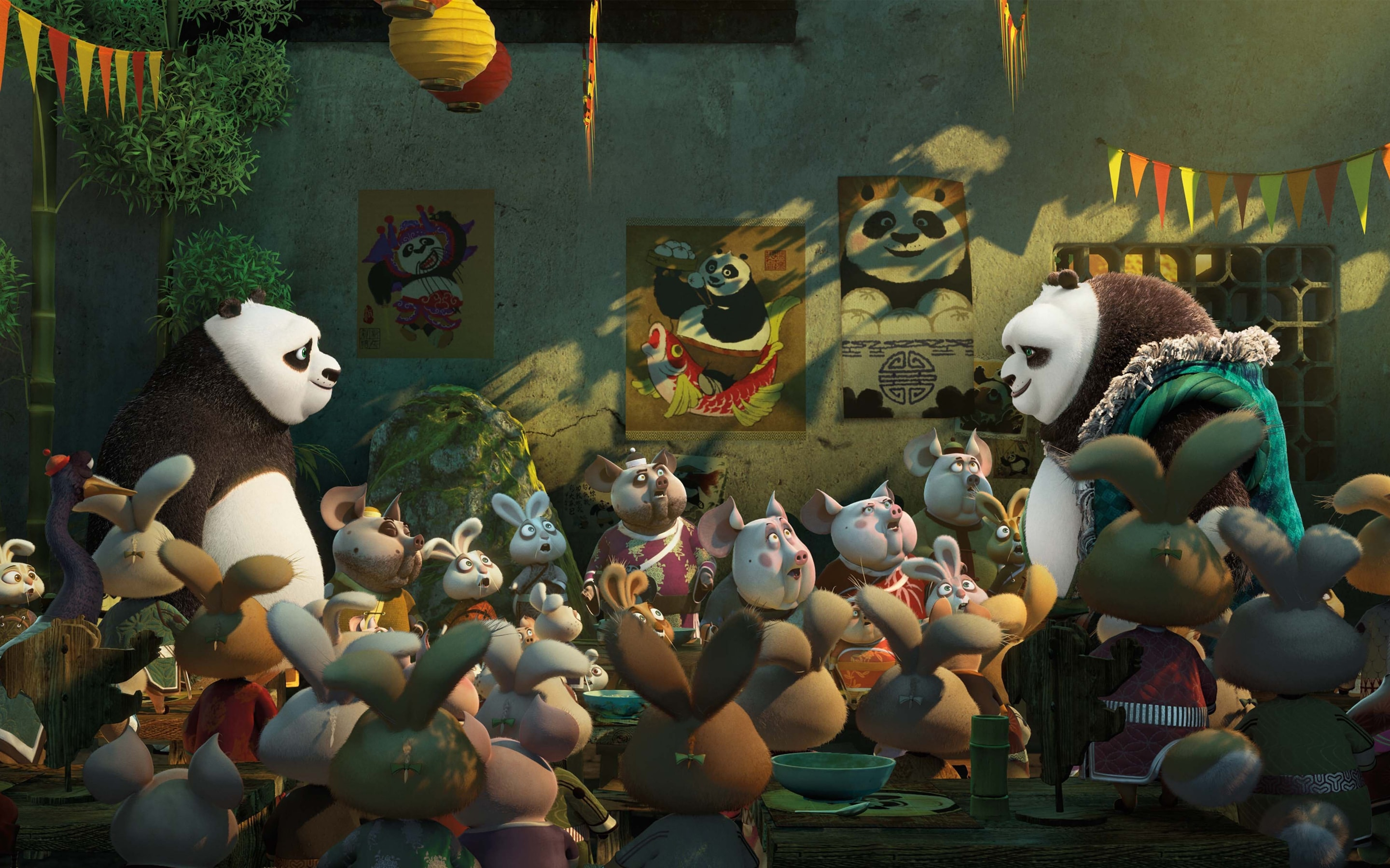 Kung Fu Panda 3 full hd wallpapers