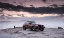 Mercedes-Benz GLE coupe desktop wallpaper