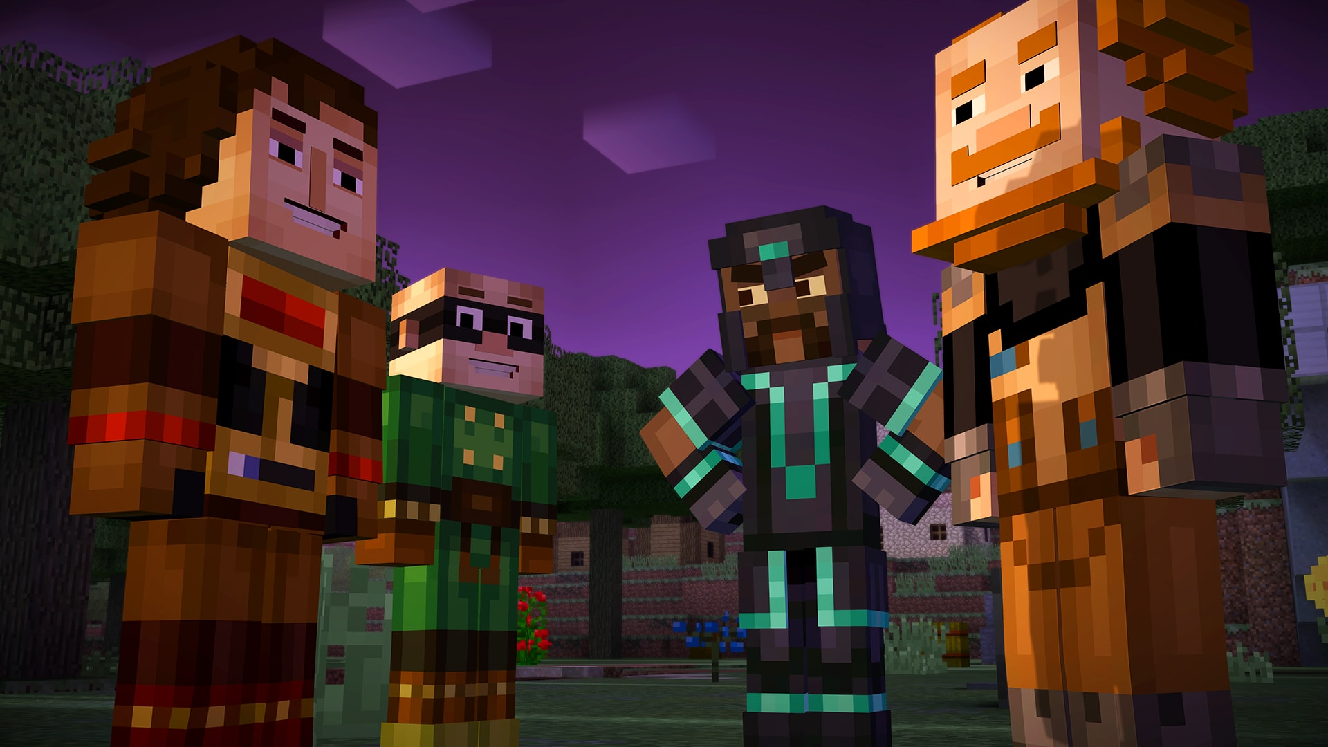 Minecraft: Story Mode - Episode 3: The Last Place You Look Full hd wallpapers