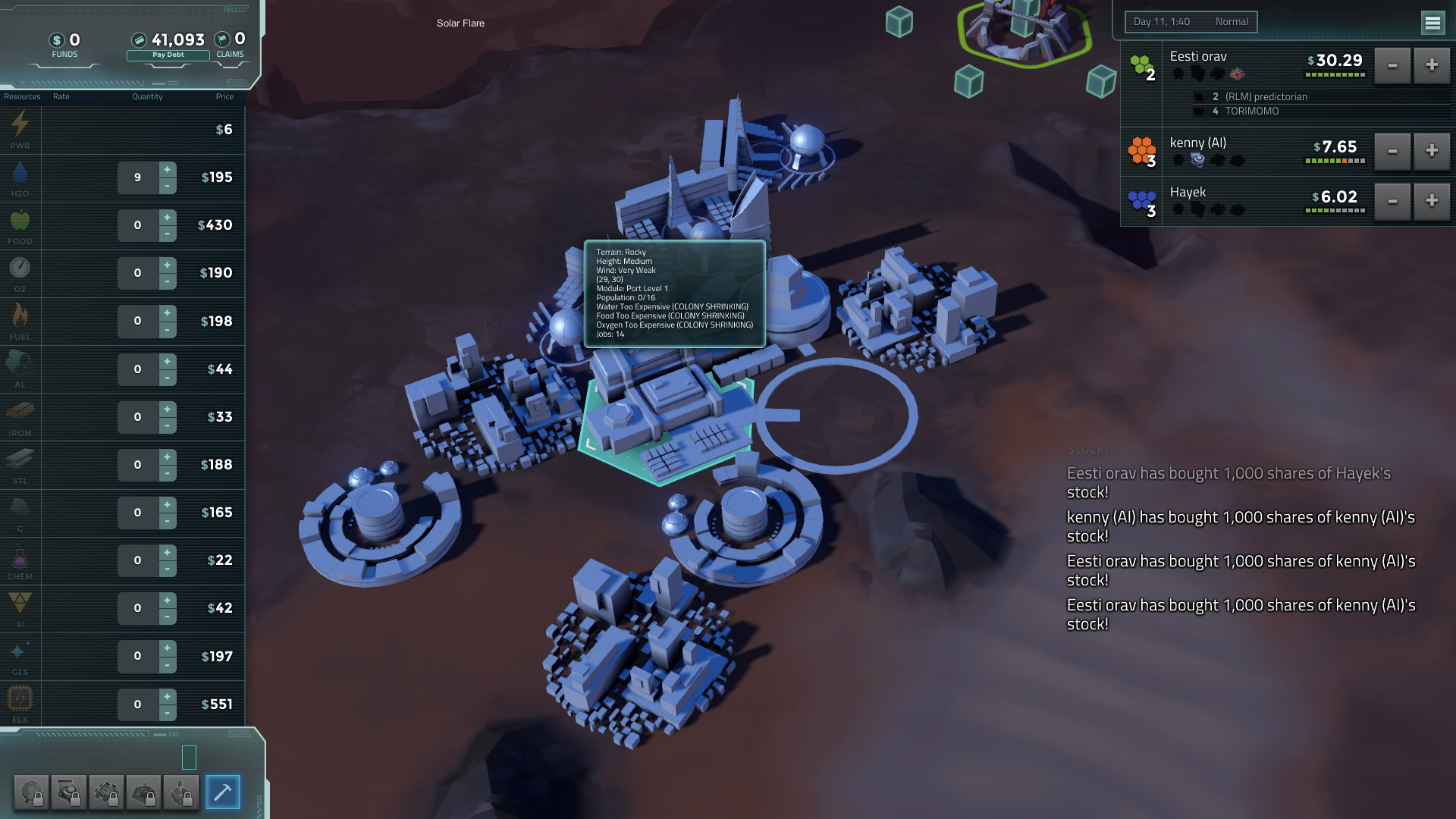 Offworld Trading Company Full hd wallpapers
