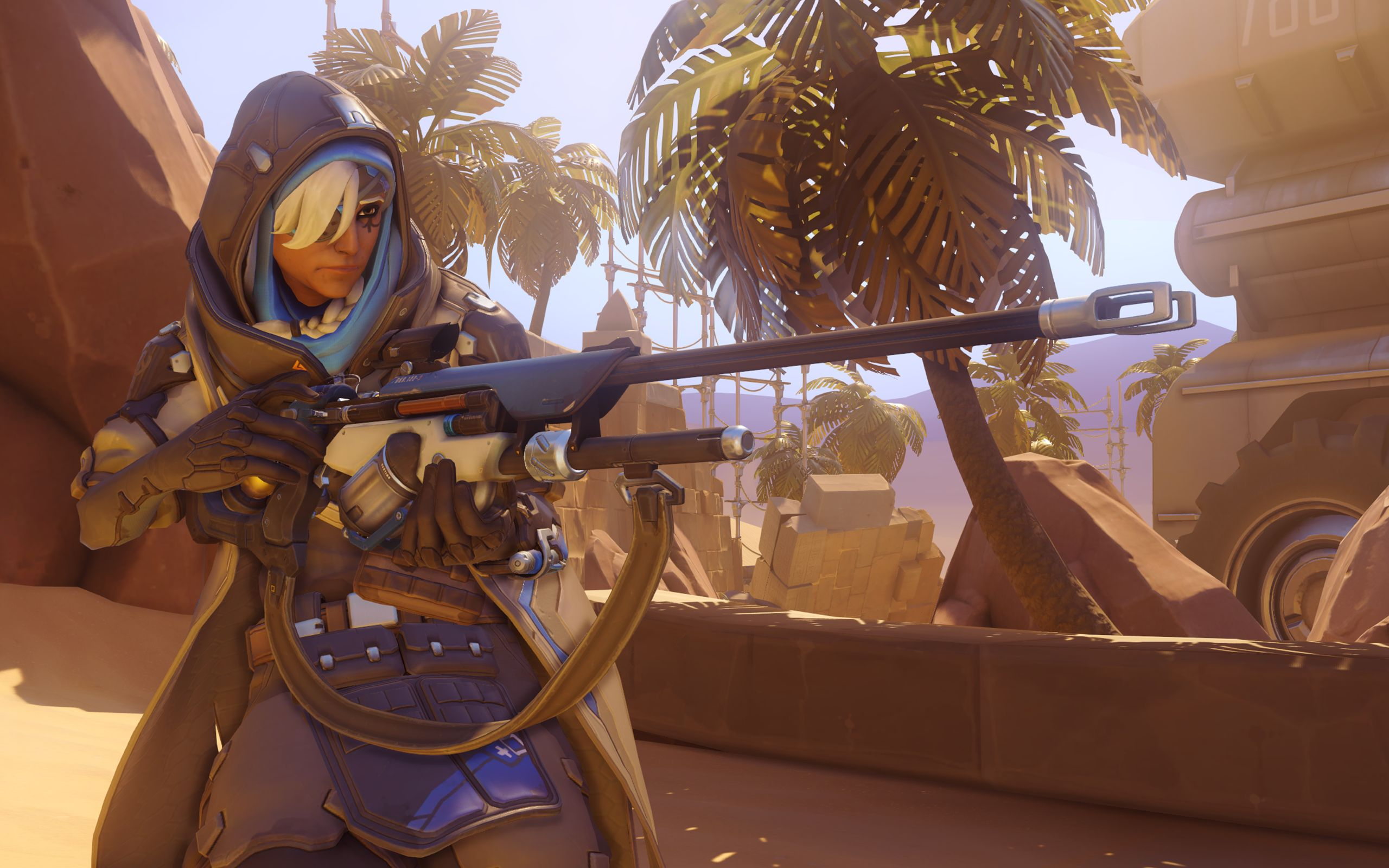 Overwatch Ana Hd Wallpapers 7wallpapersnet