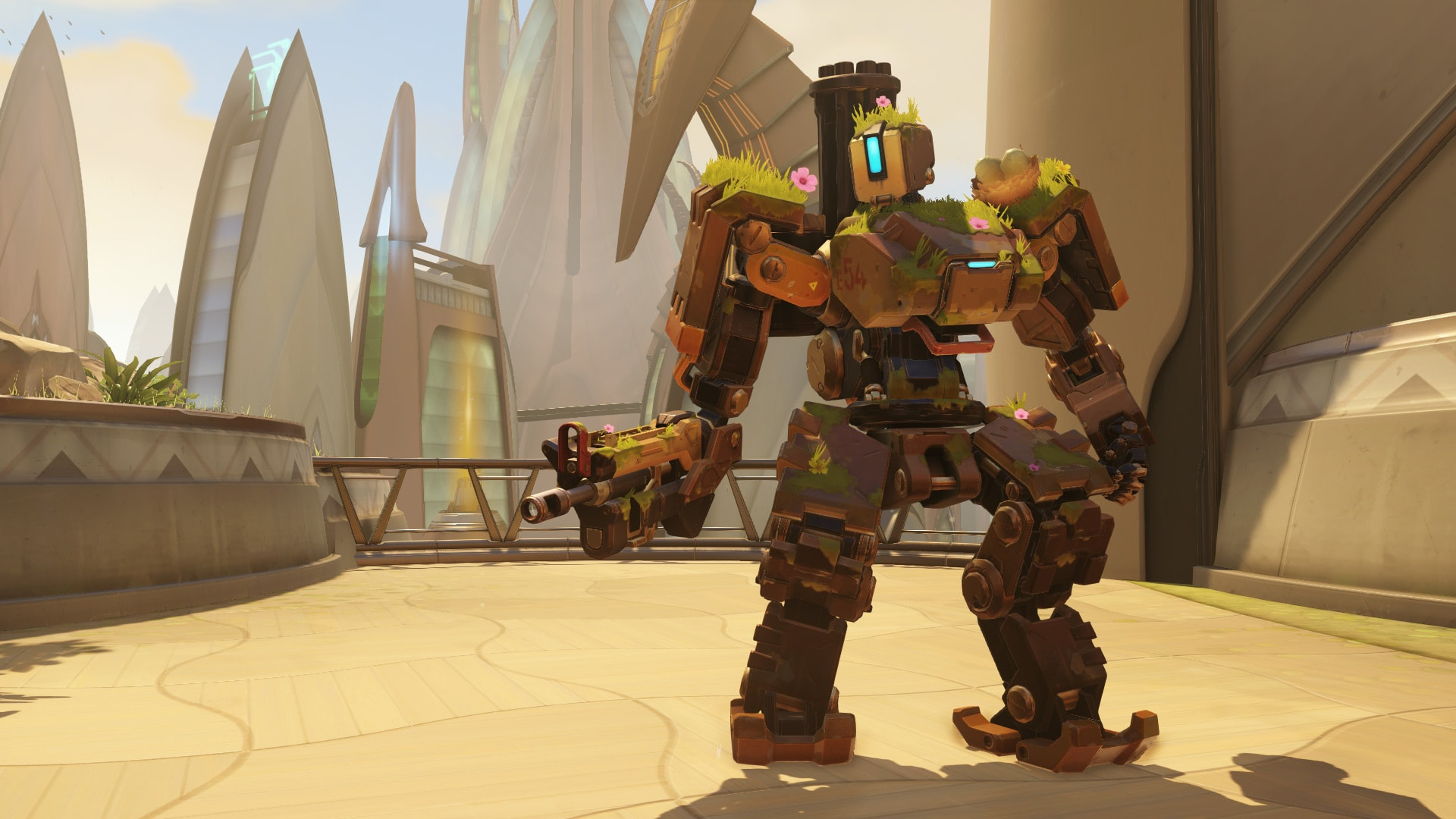 Overwatch : Bastion HD pictures