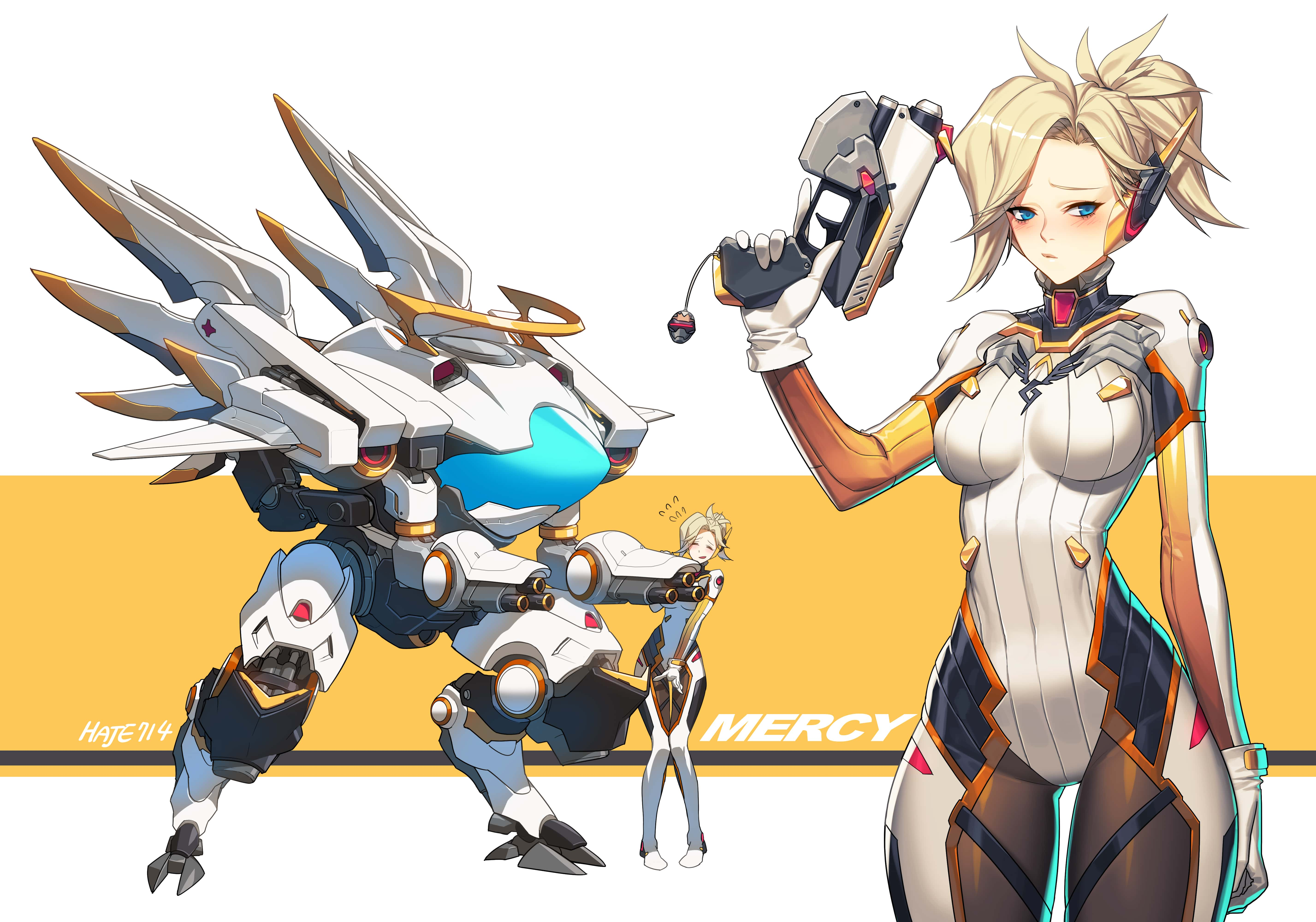 Overwatch : Mercy HD pictures
