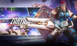 Overwatch : Zarya Widescreen for desktop