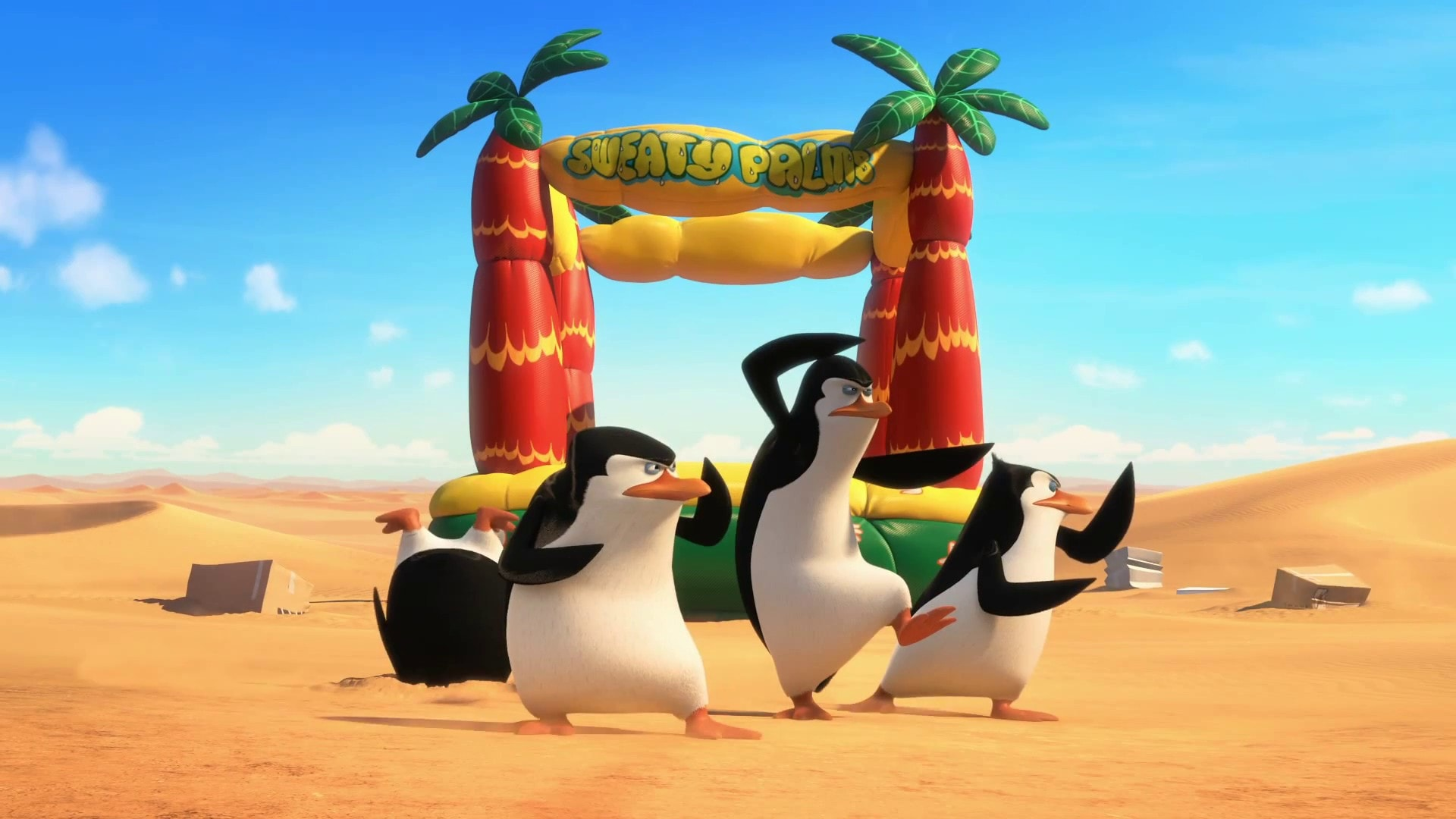 Penguins Of Madagascar HD pictures