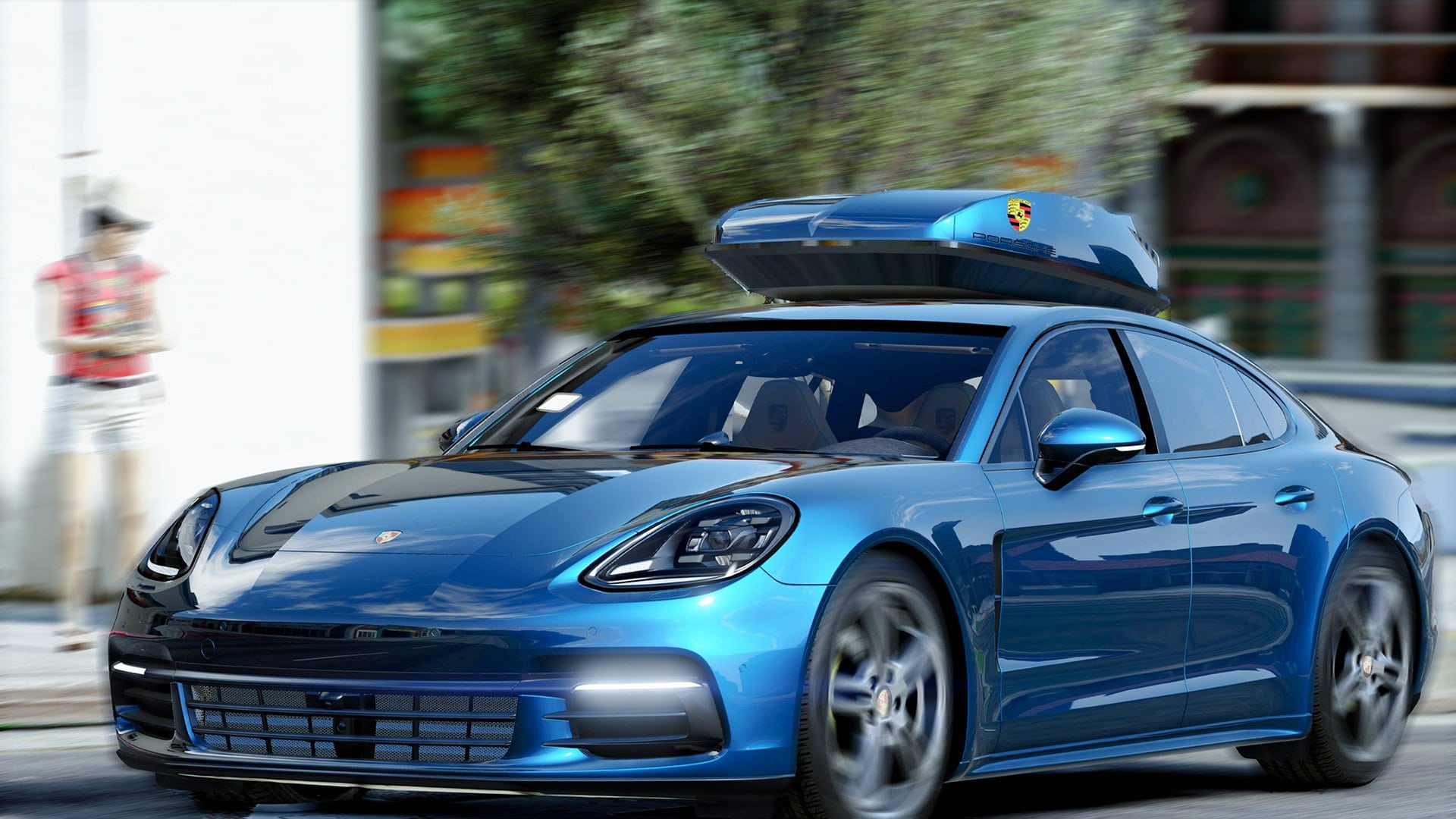 Porsche Panamera 2 Full hd wallpapers