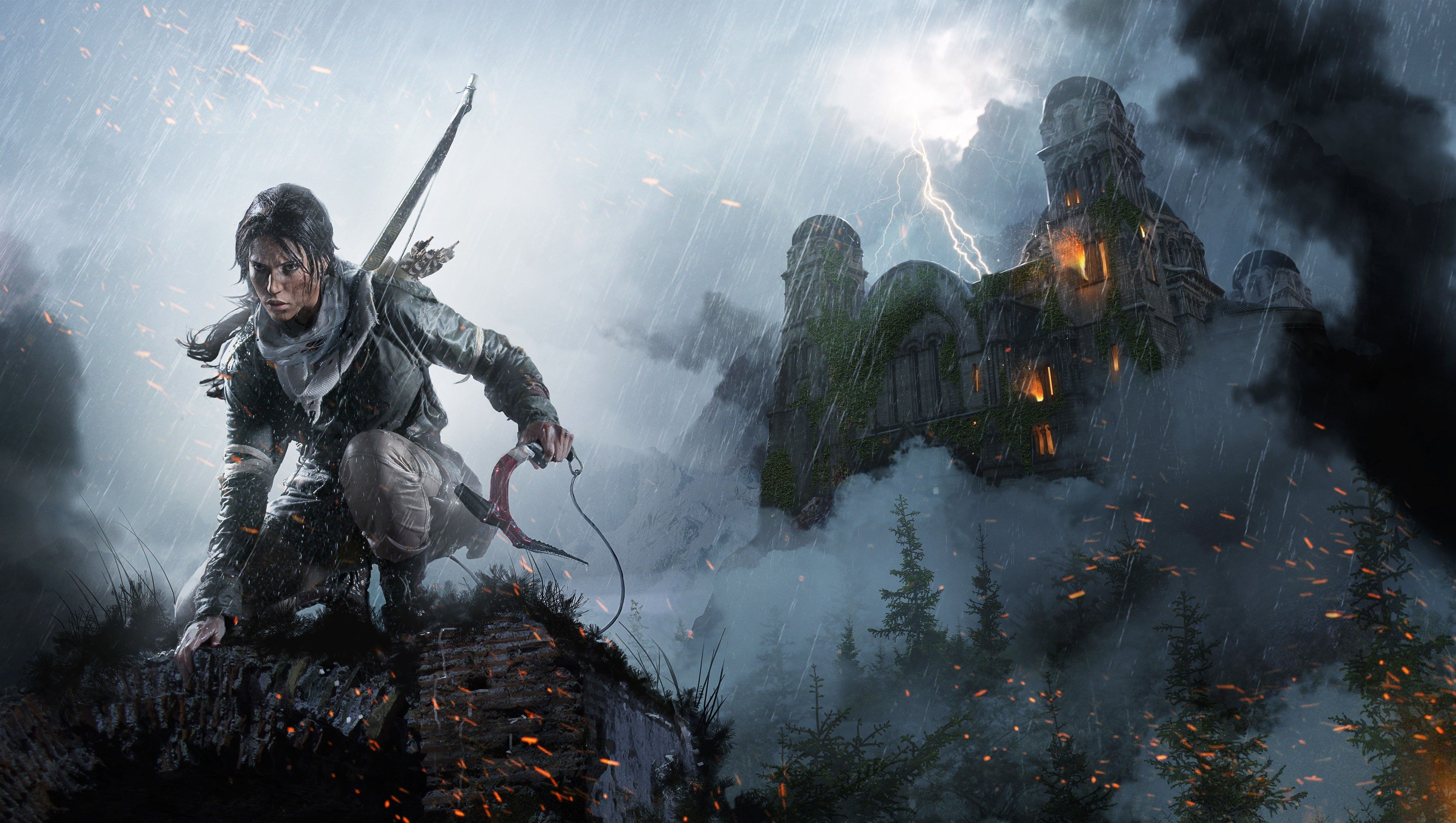 Rise Of The Tomb Raider Hd Wallpapers 7wallpapers Net