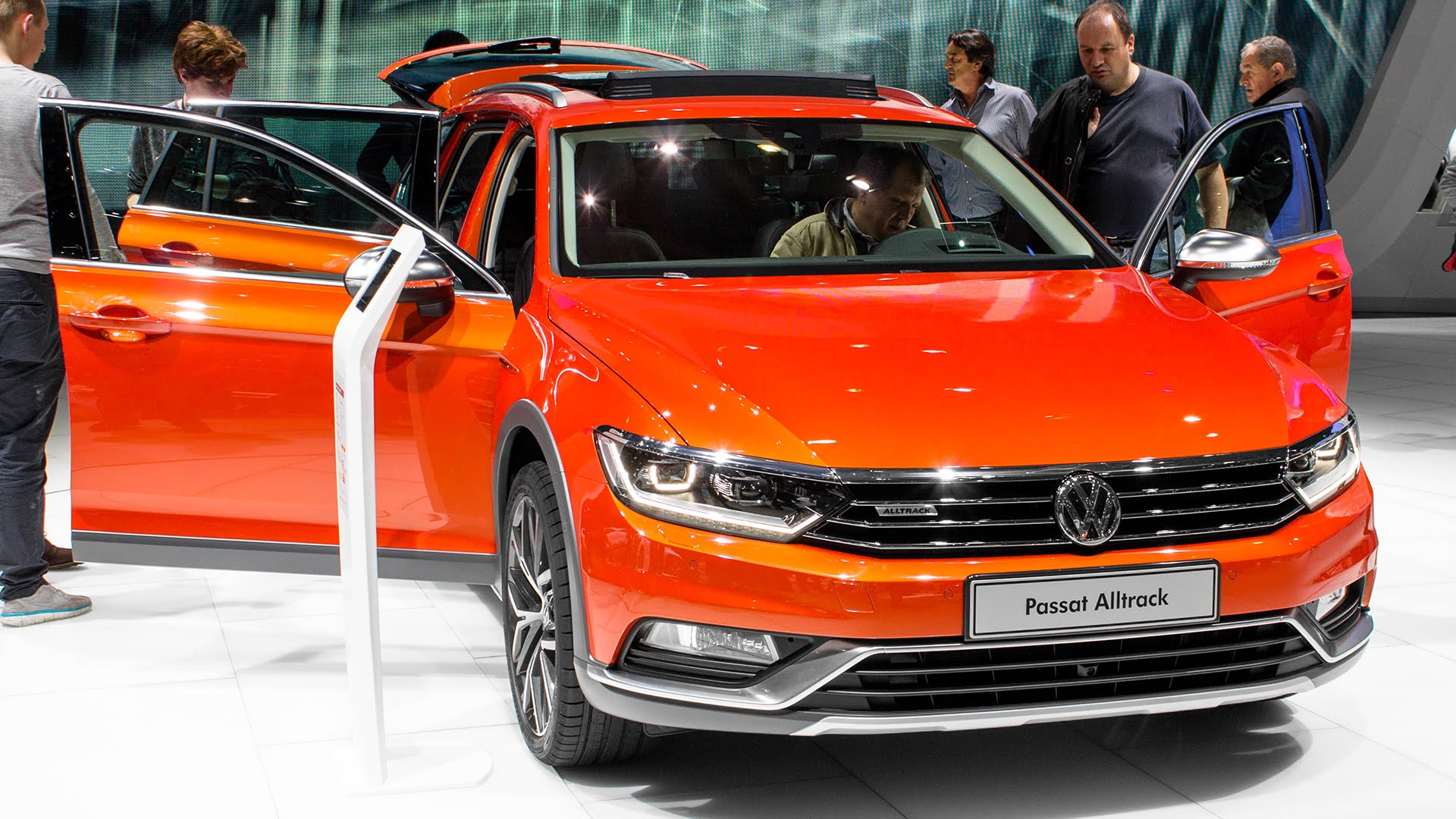 Volkswagen Passat B8 Alltrack Full hd wallpapers
