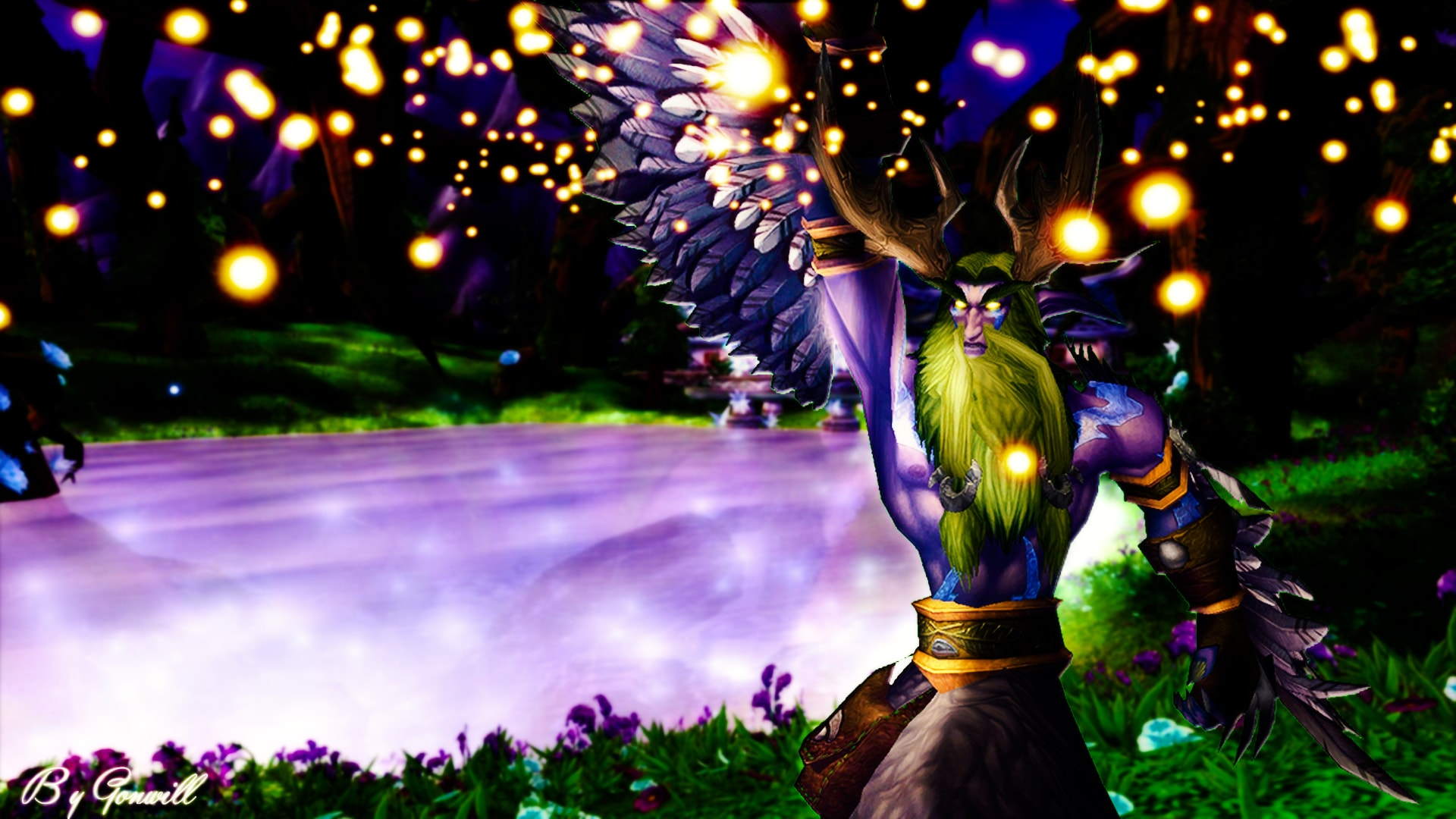 WOW: Malfurion Stormrage full hd wallpapers