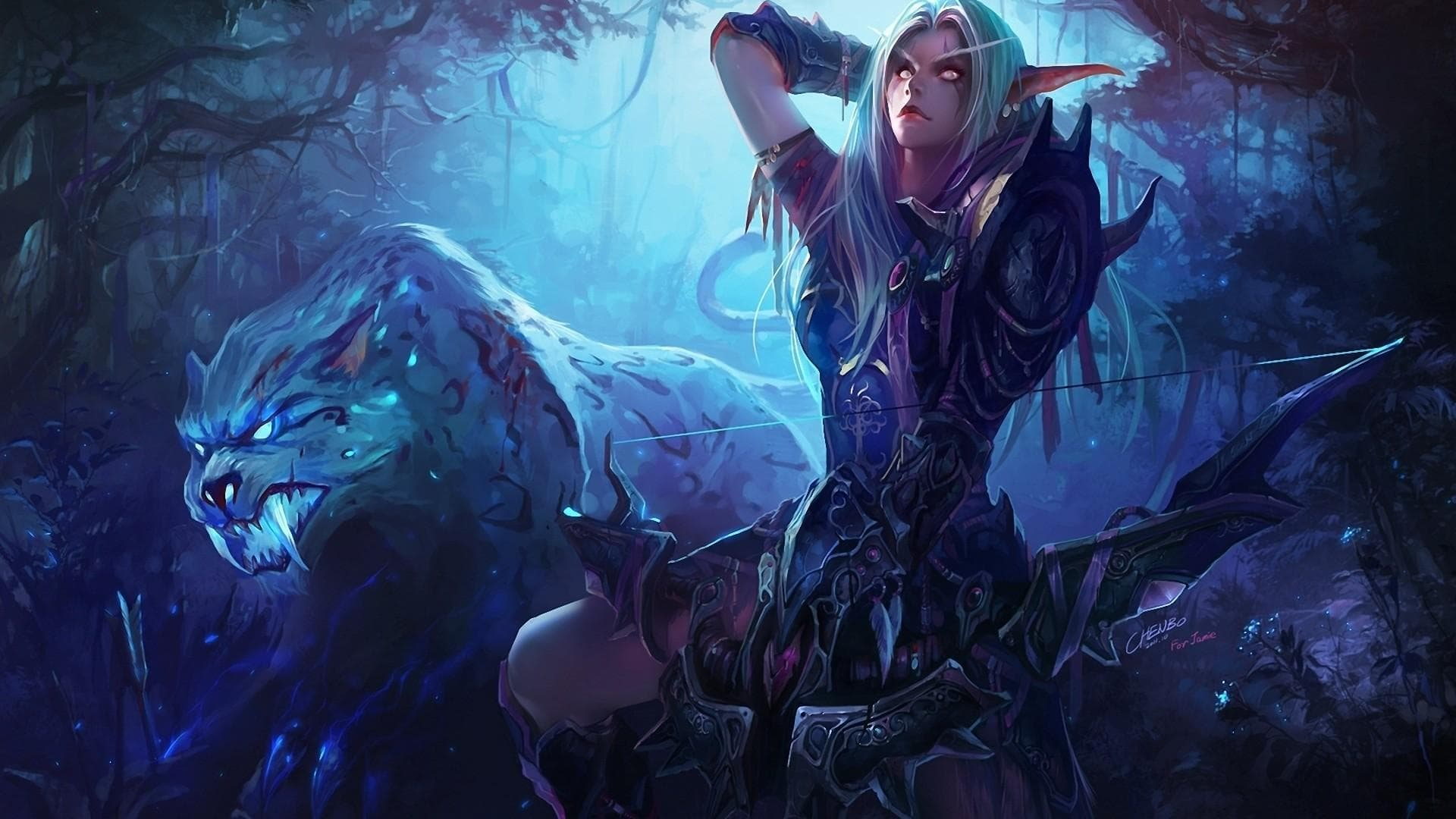 WOW: Sylvanas Windrunner full hd wallpapers