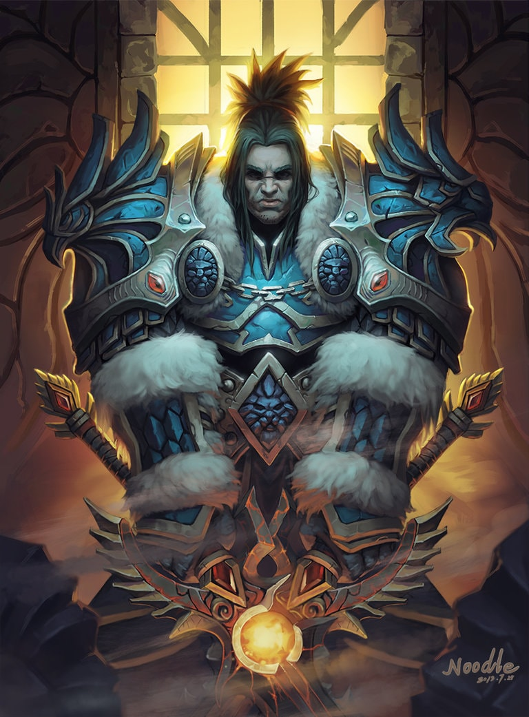 WOW: Varian Wrynn HQ wallpapers