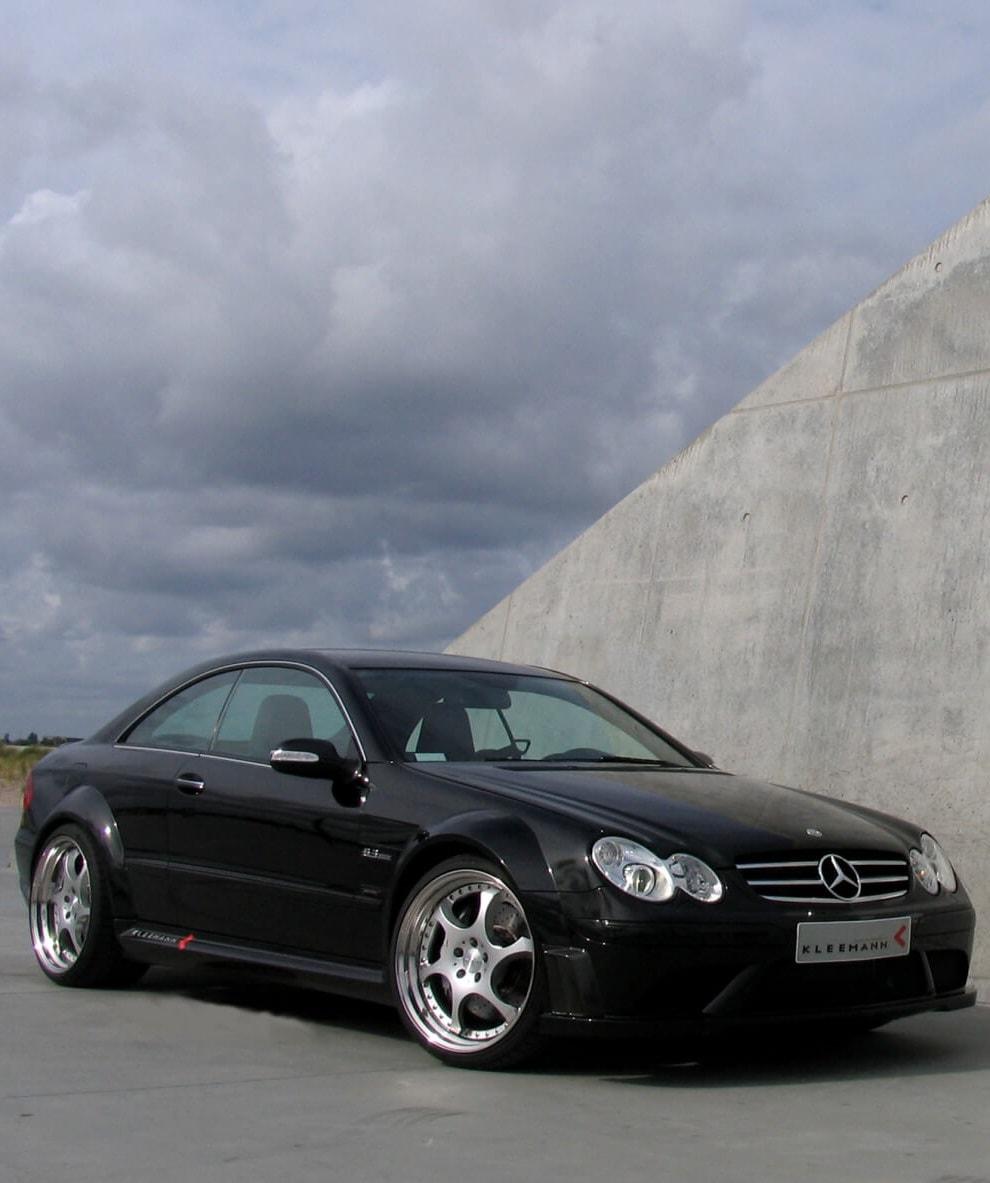 2008 Mercedes-Benz CLK63 AMG Black Series For mobile