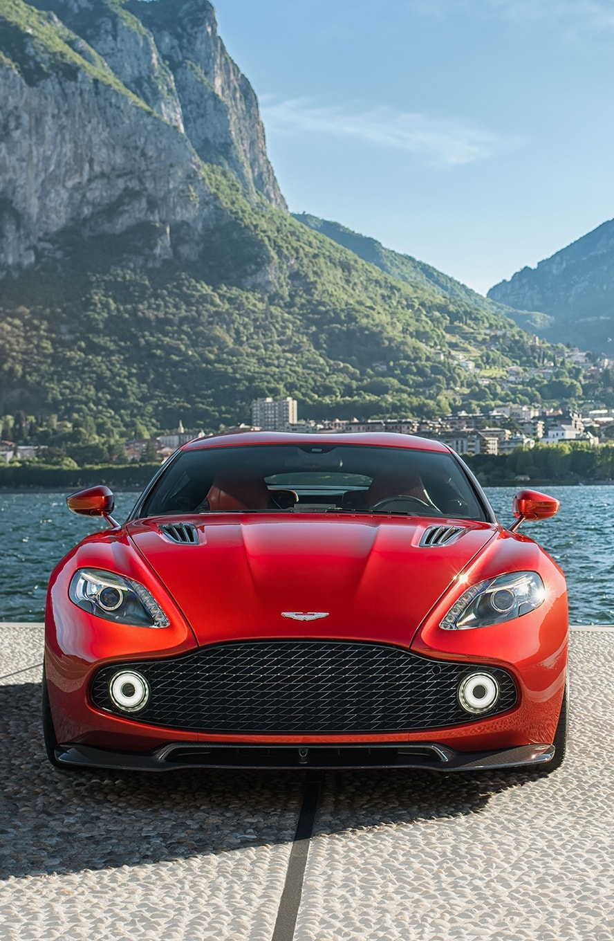 Aston Martin Vanquish Zagato For mobile