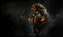 Dota2 : Batrider widescreen for desktop