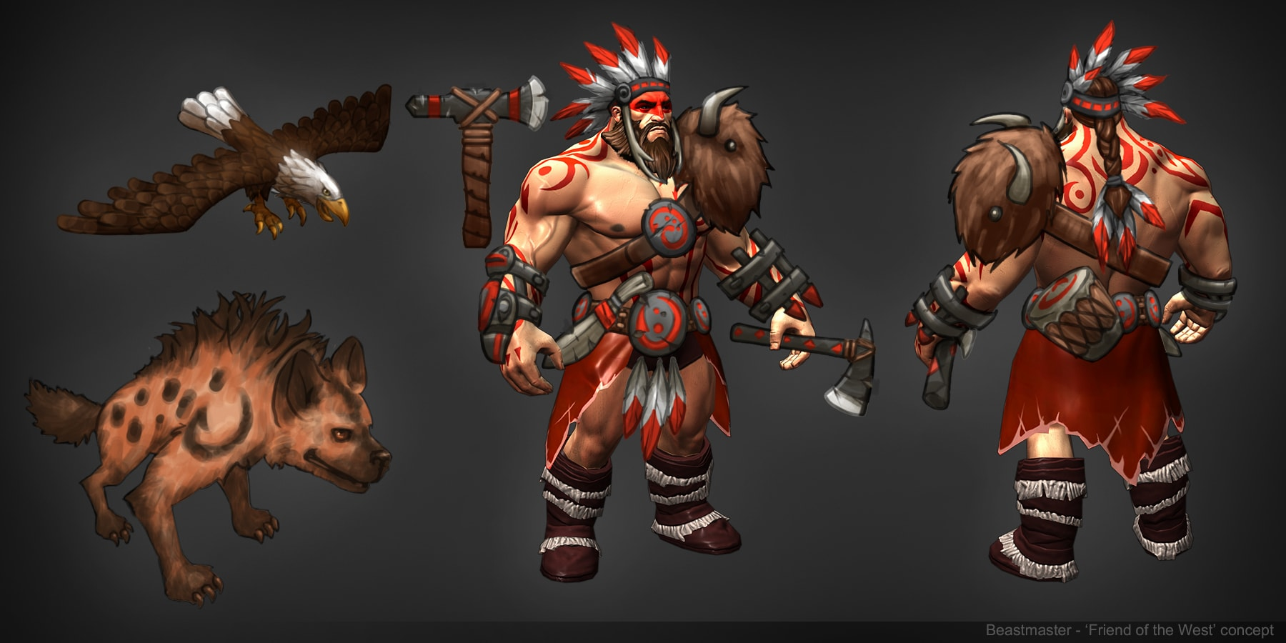 Dota2 : Beastmaster HQ wallpapers