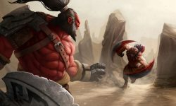 Dota2 : Bloodseeker widescreen for desktop