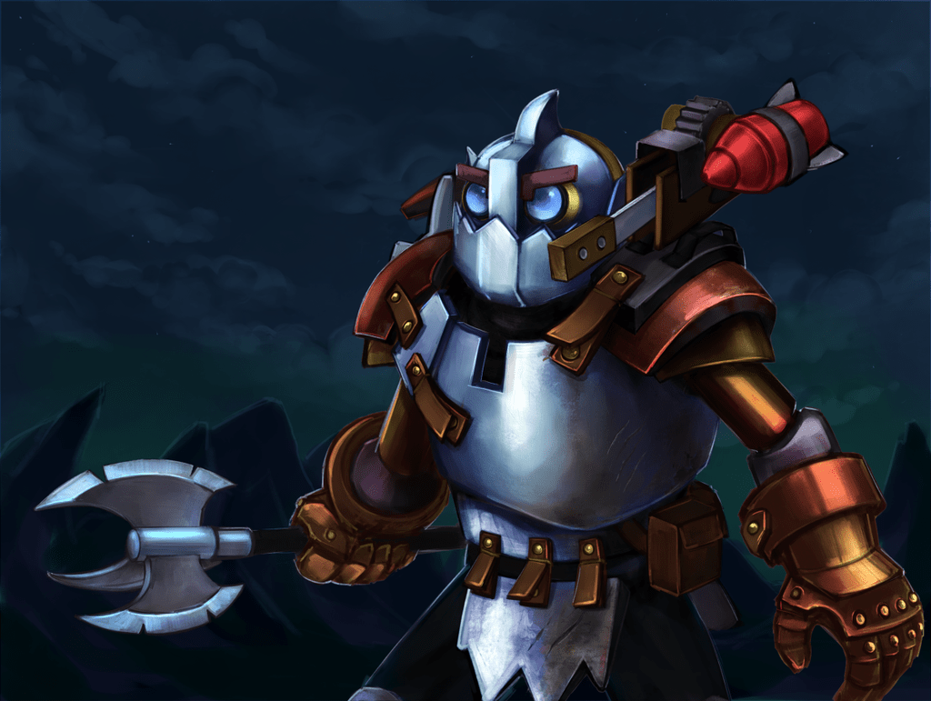 Dota2 : Clockwerk widescreen for desktop