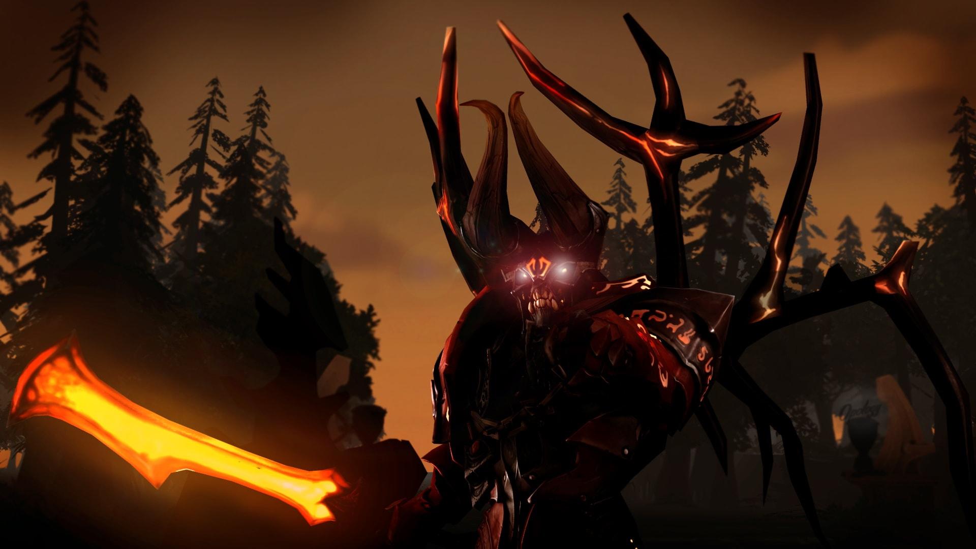 Dota2 : Doom widescreen for desktop