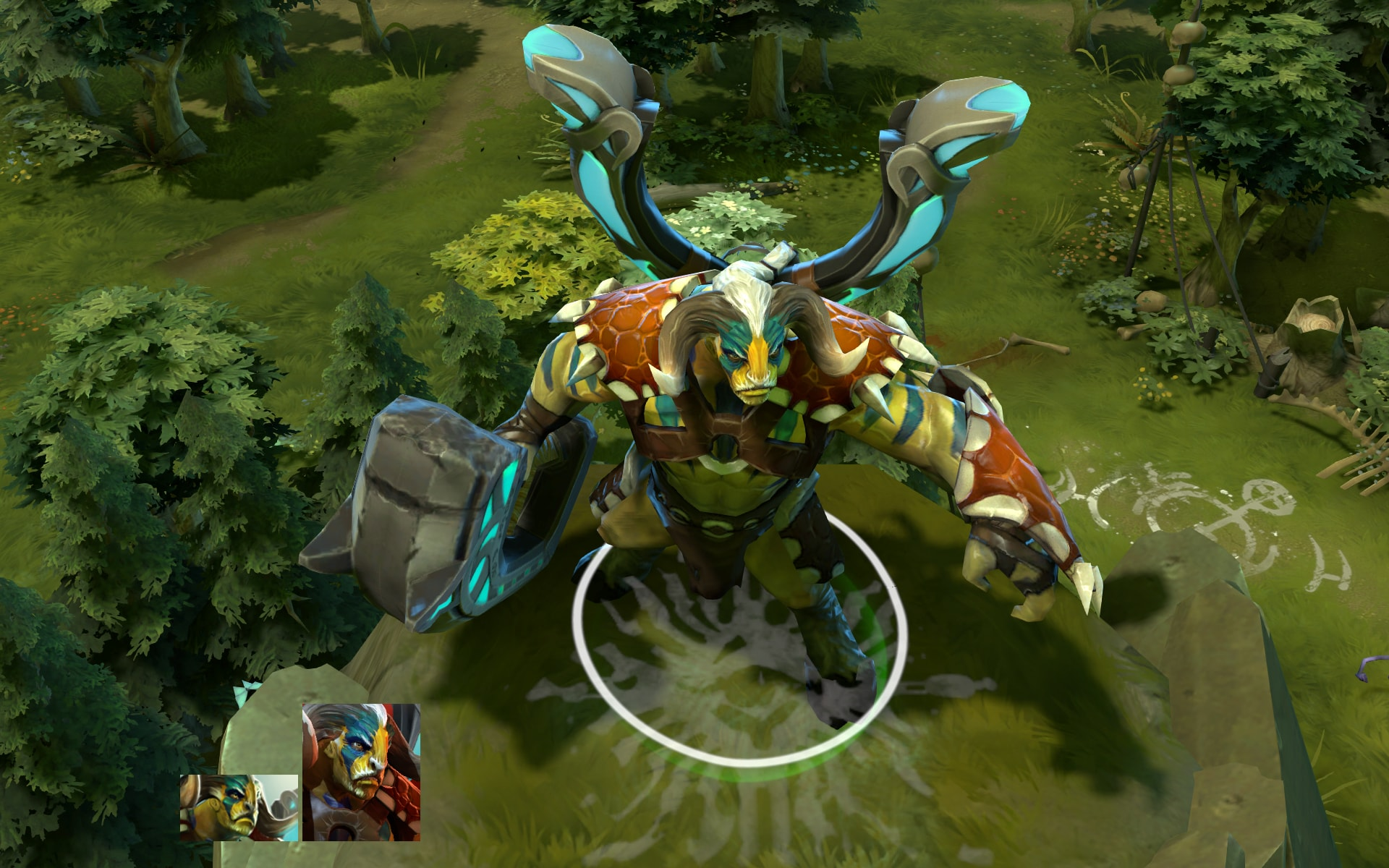Dota2 : Elder Titan widescreen for desktop