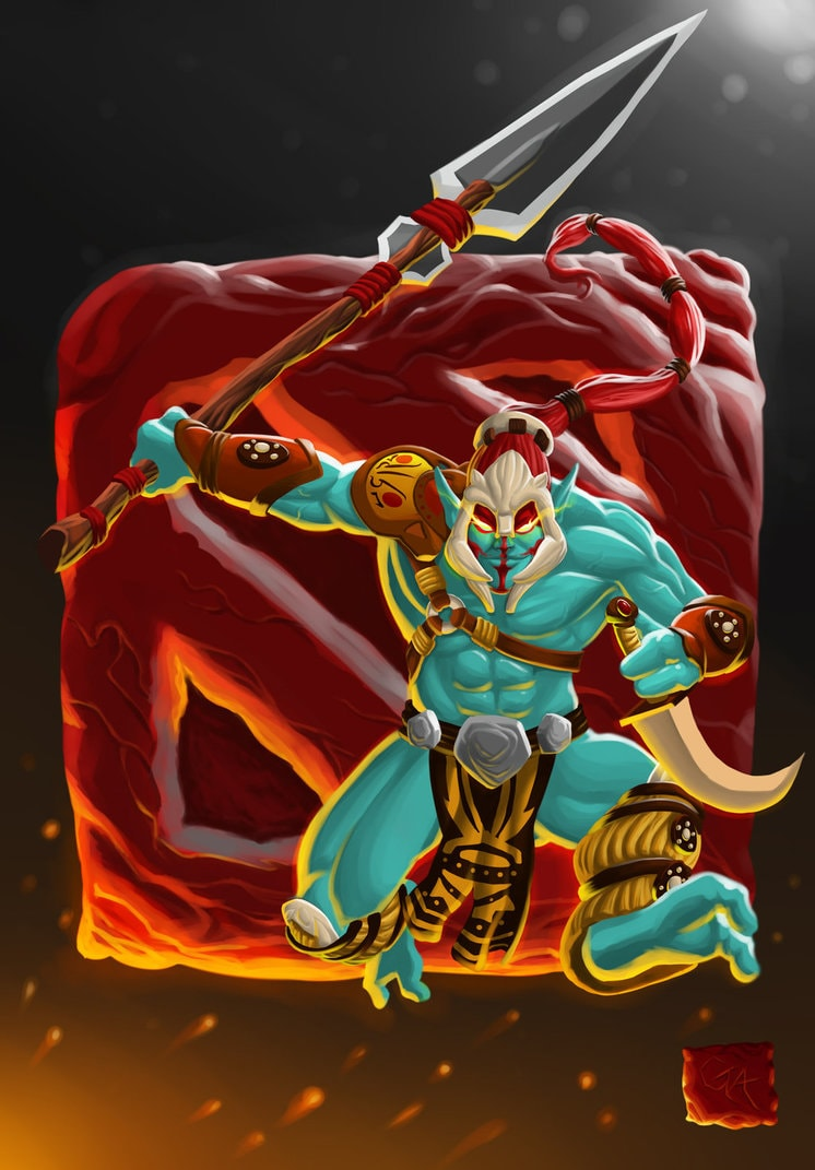 Dota2 : Huskar for mobile