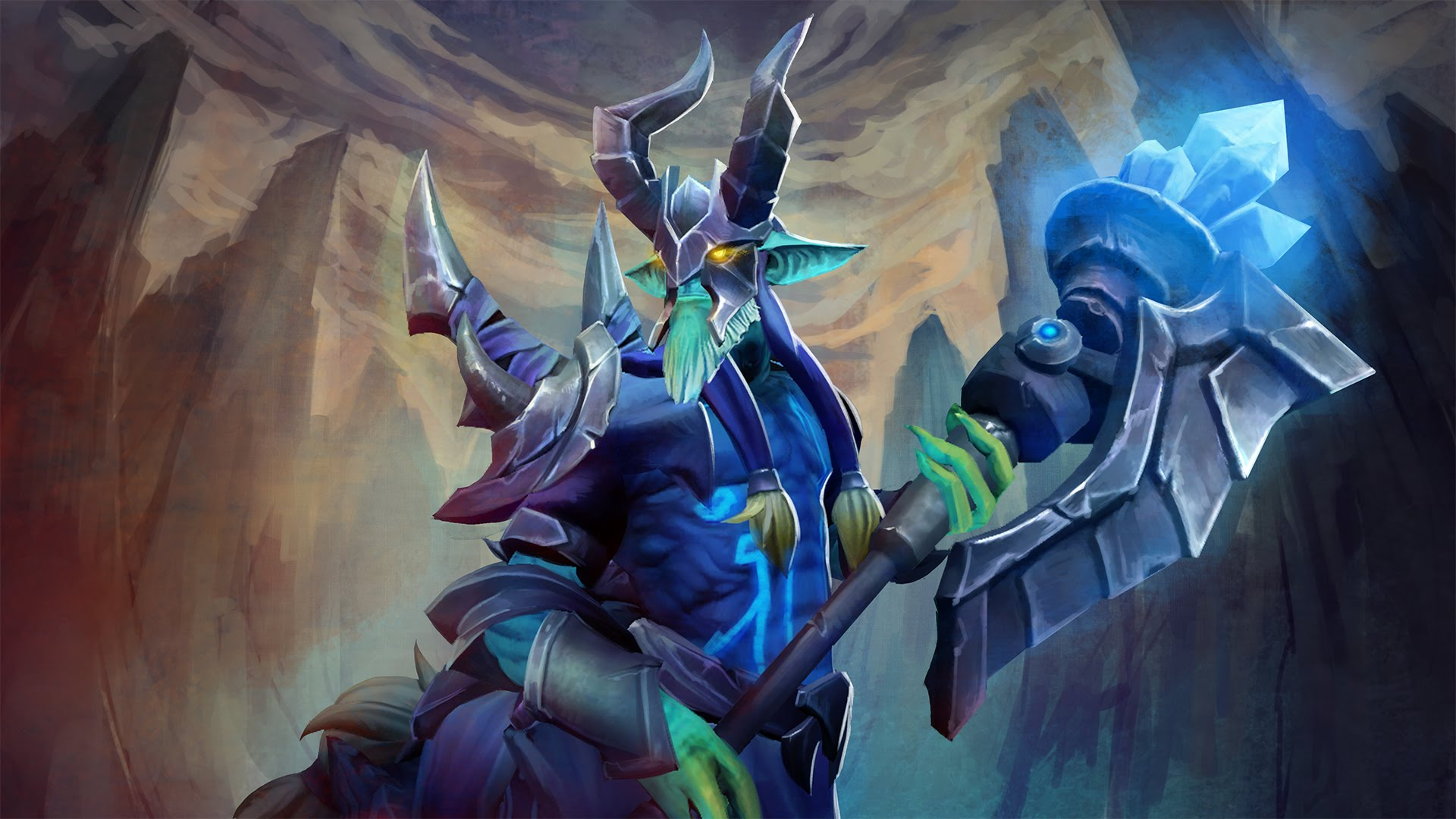 Dota2 : Leshrac widescreen for desktop