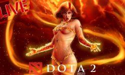 Dota2 : Lina widescreen for desktop