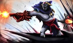 Dota2 : Lion widescreen for desktop