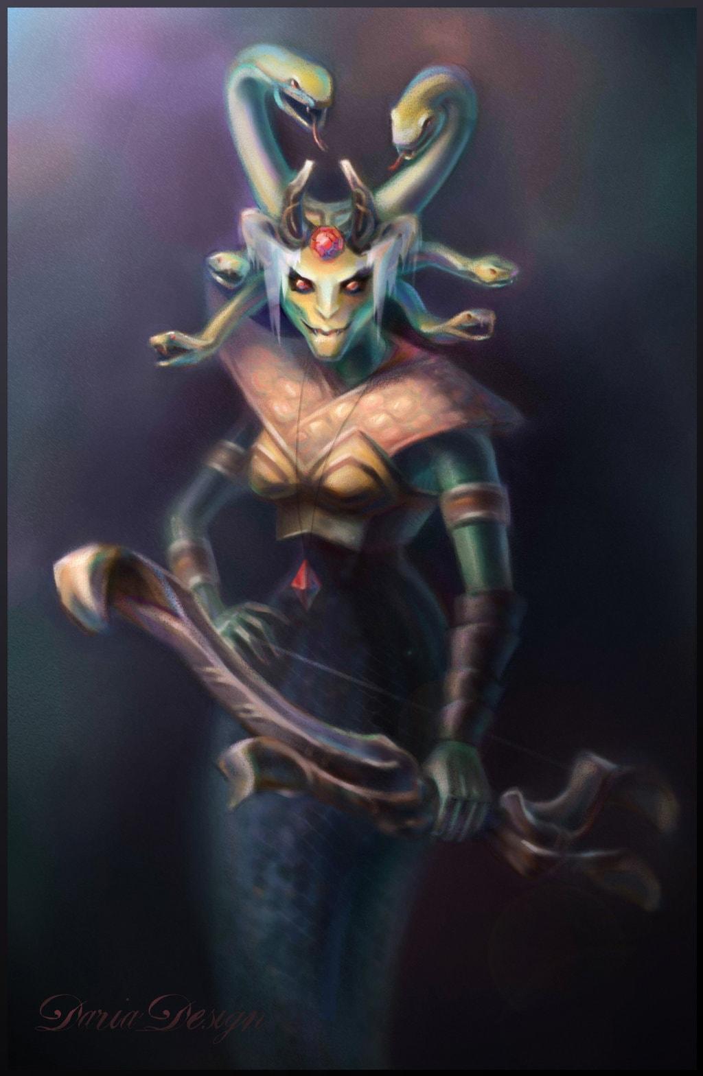 Dota2 : Medusa for mobile
