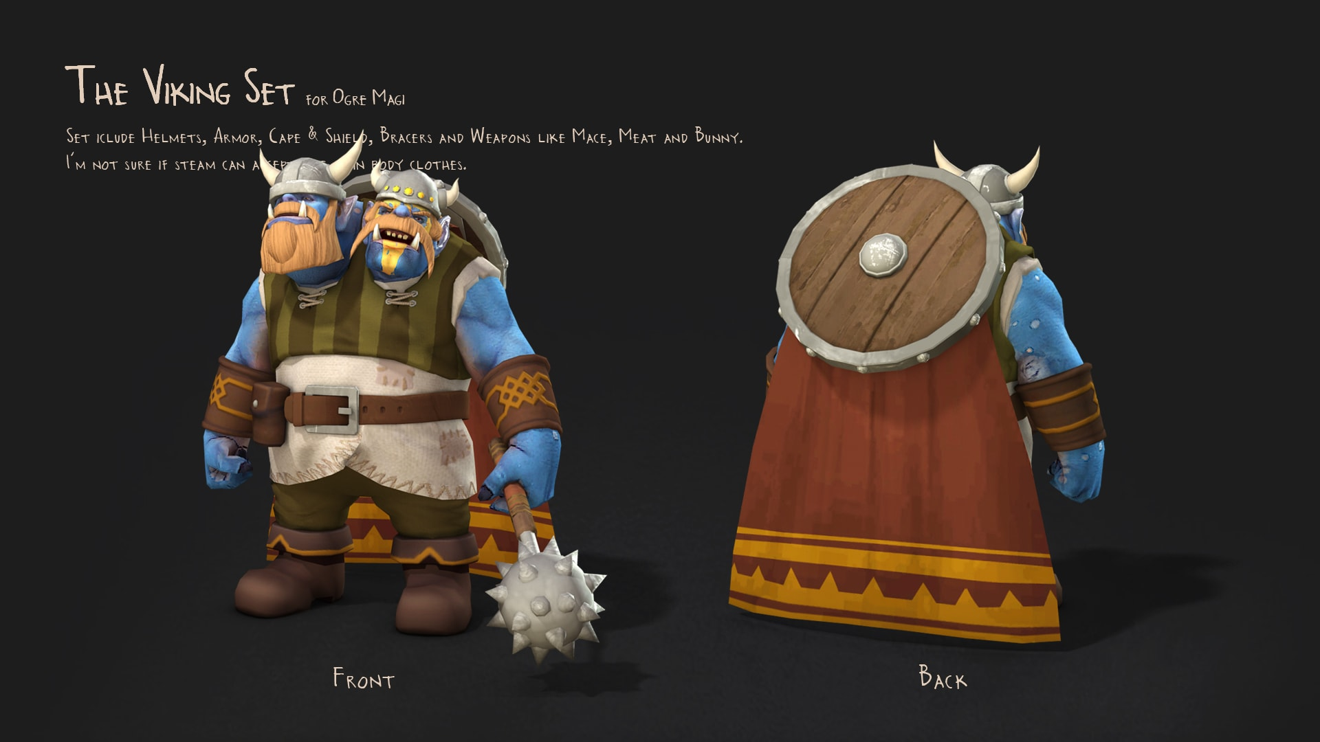 Dota2 : Ogre Magi full hd wallpapers
