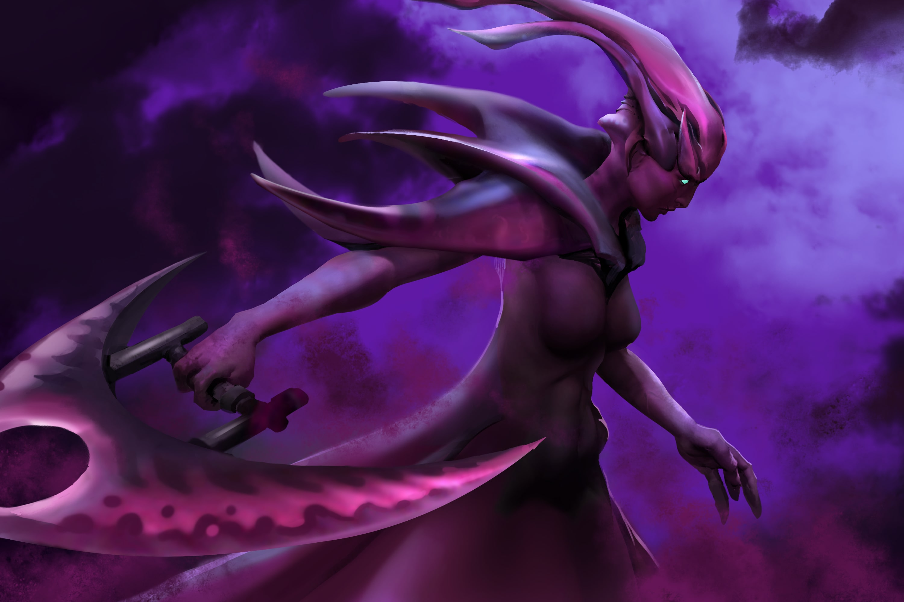 dota2 spectre hd desktop wallpapers 7wallpapers net