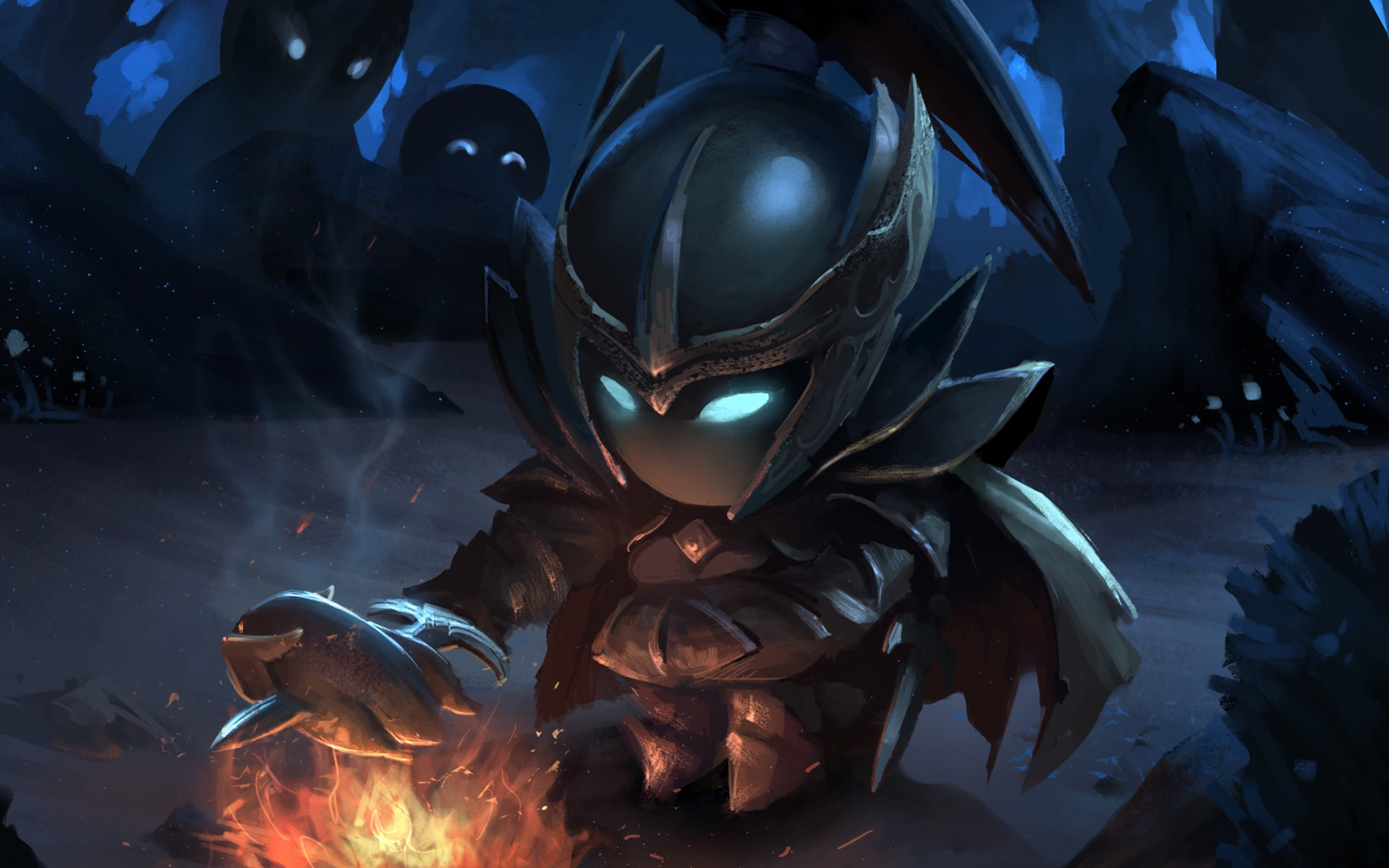 Dota2 : Terrorblade widescreen for desktop