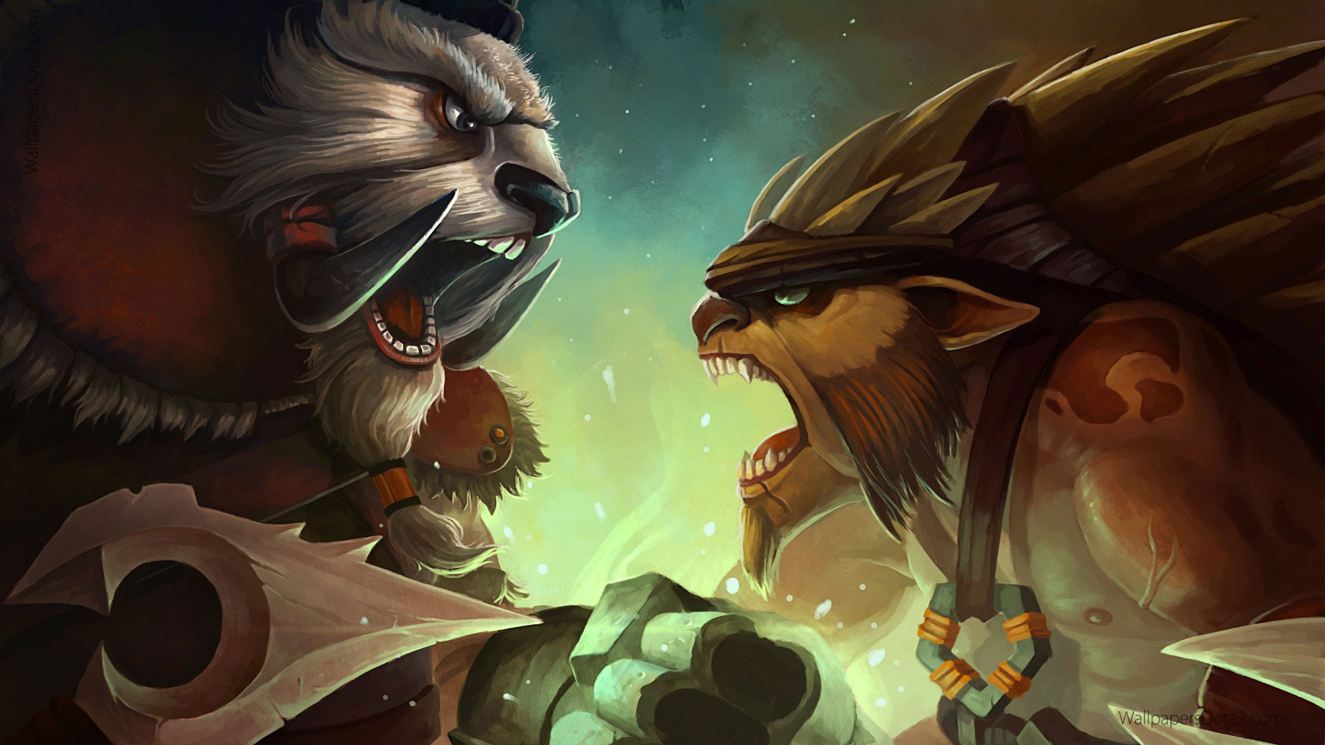 Dota2 : Tusk full hd wallpapers