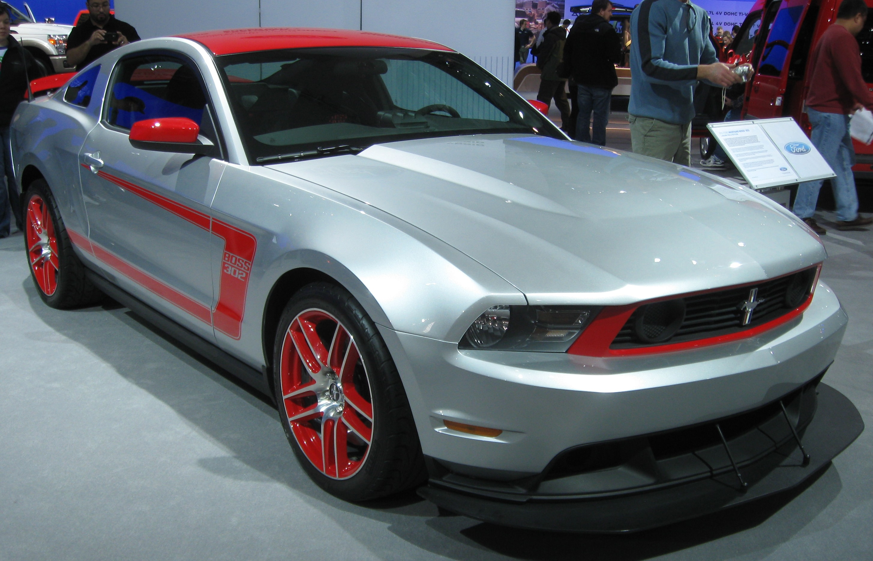 Ford Mustang Boss 302 Laguna Seca For mobile