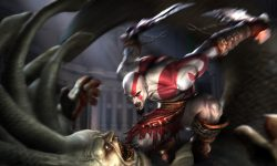 God Of War 2 widescreen for desktop