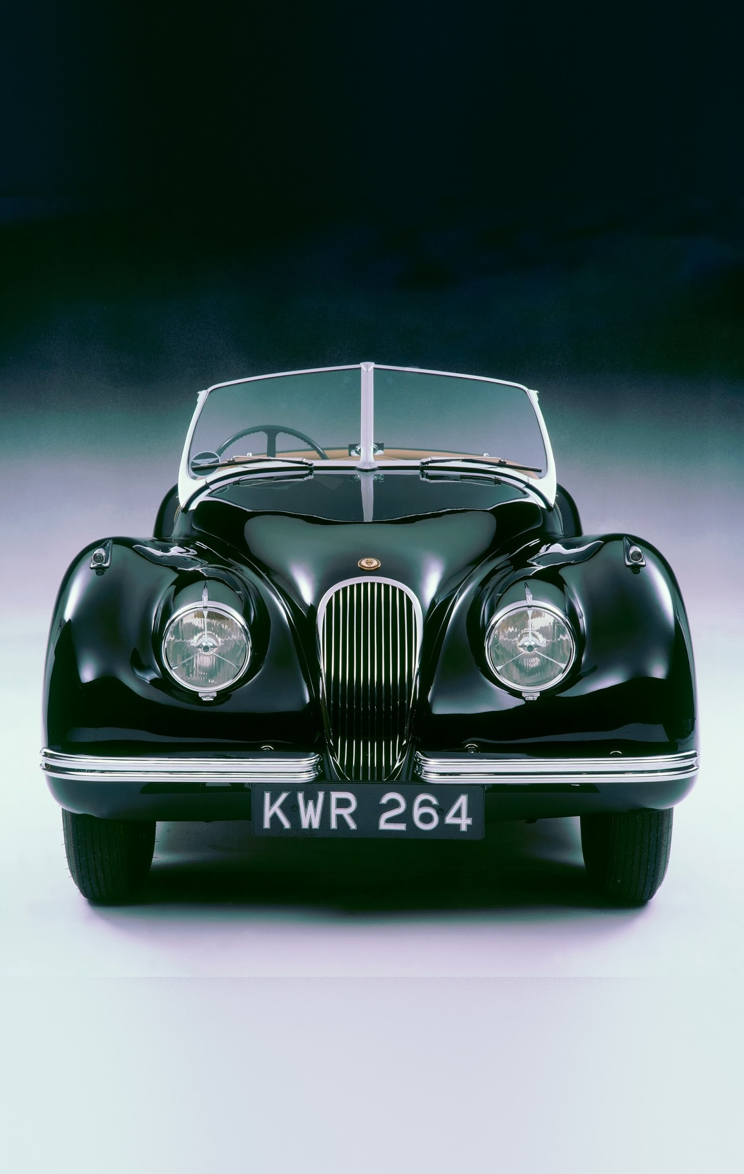 Jaguar XK120 For mobile