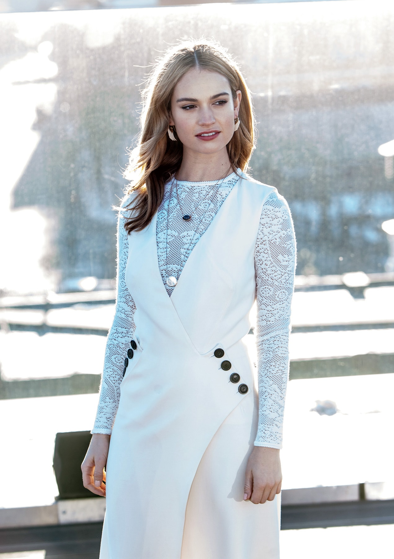 Lily James For mobile