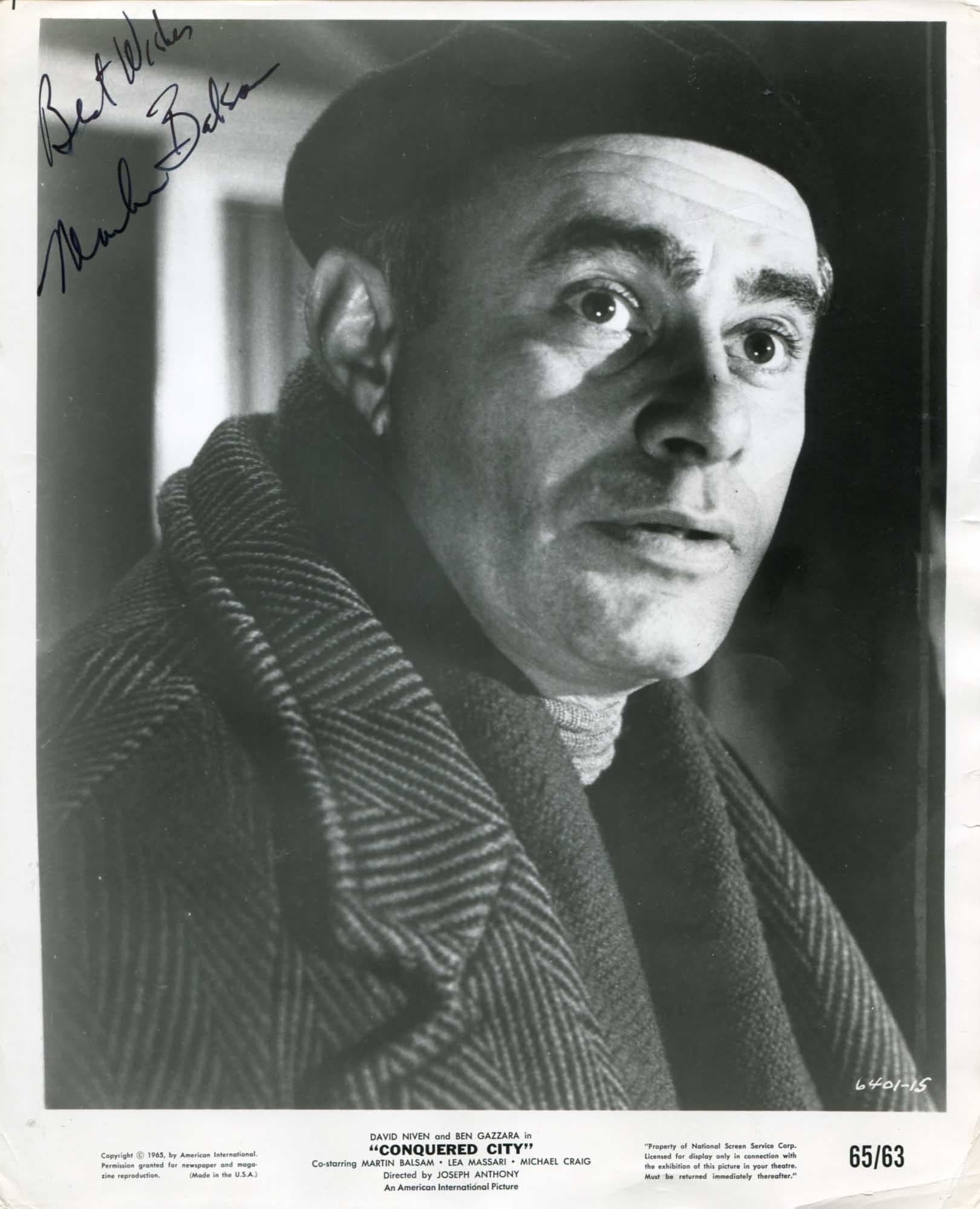 Martin Balsam For mobile
