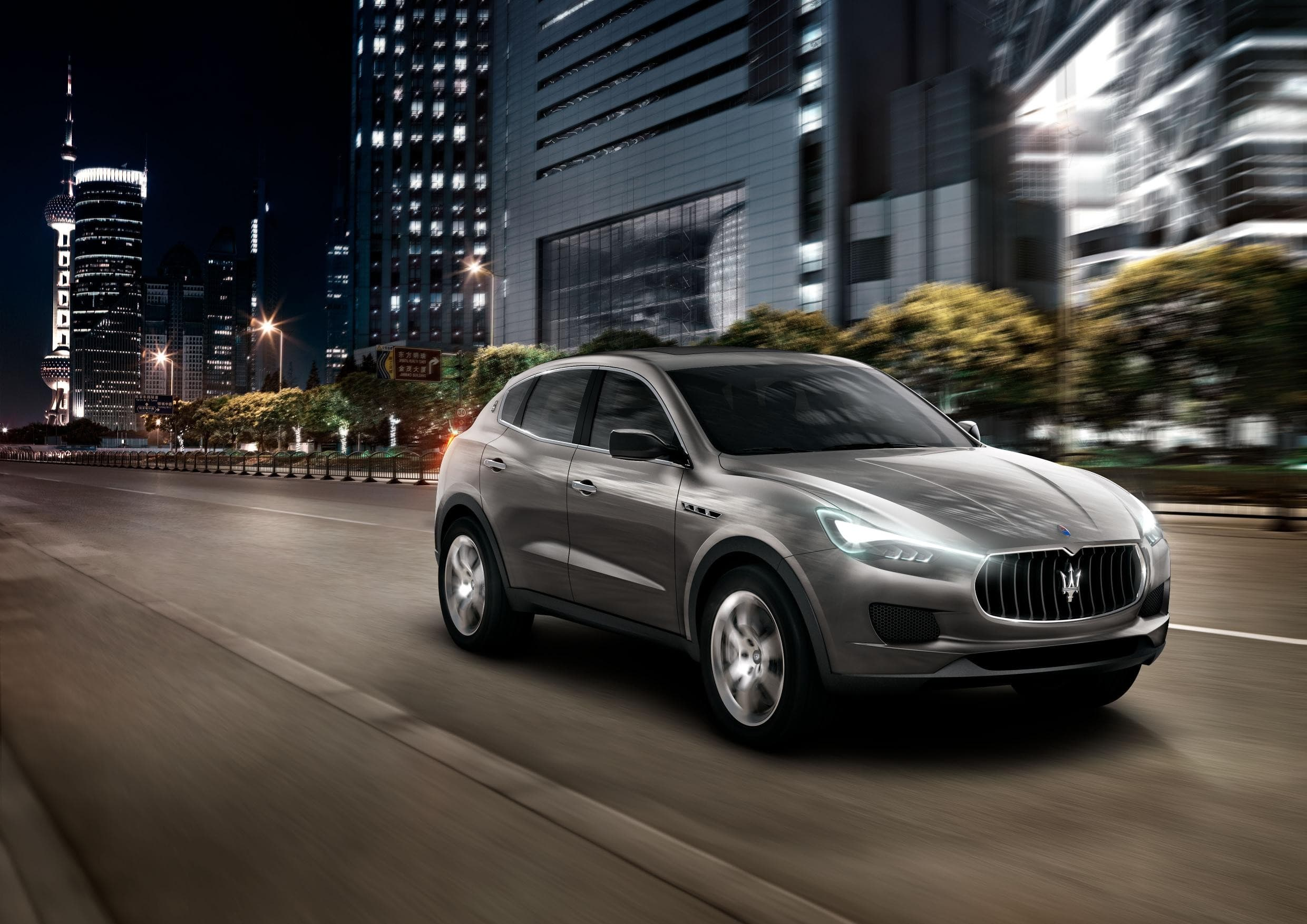 Maserati Levante For mobile