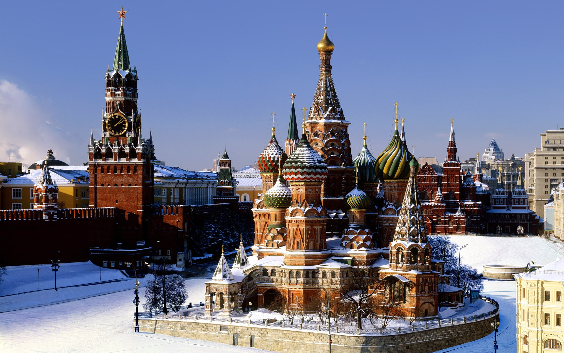 Background Moscow Hd