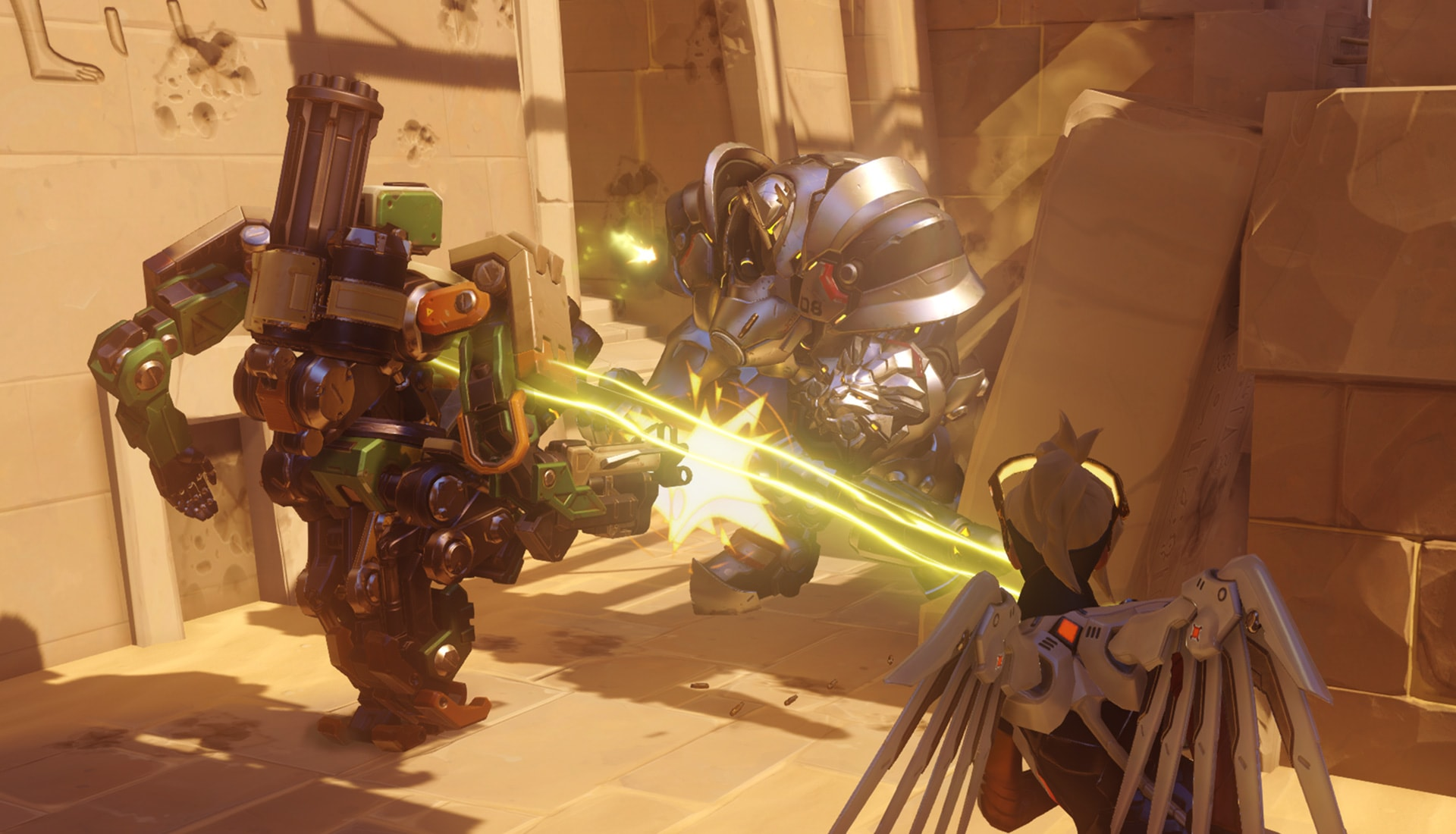 Overwatch : Bastion Full hd wallpapers
