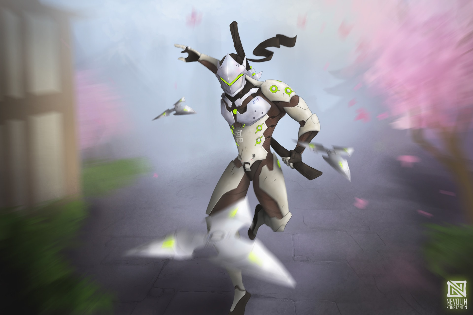 Overwatch : Genji Wallpaper