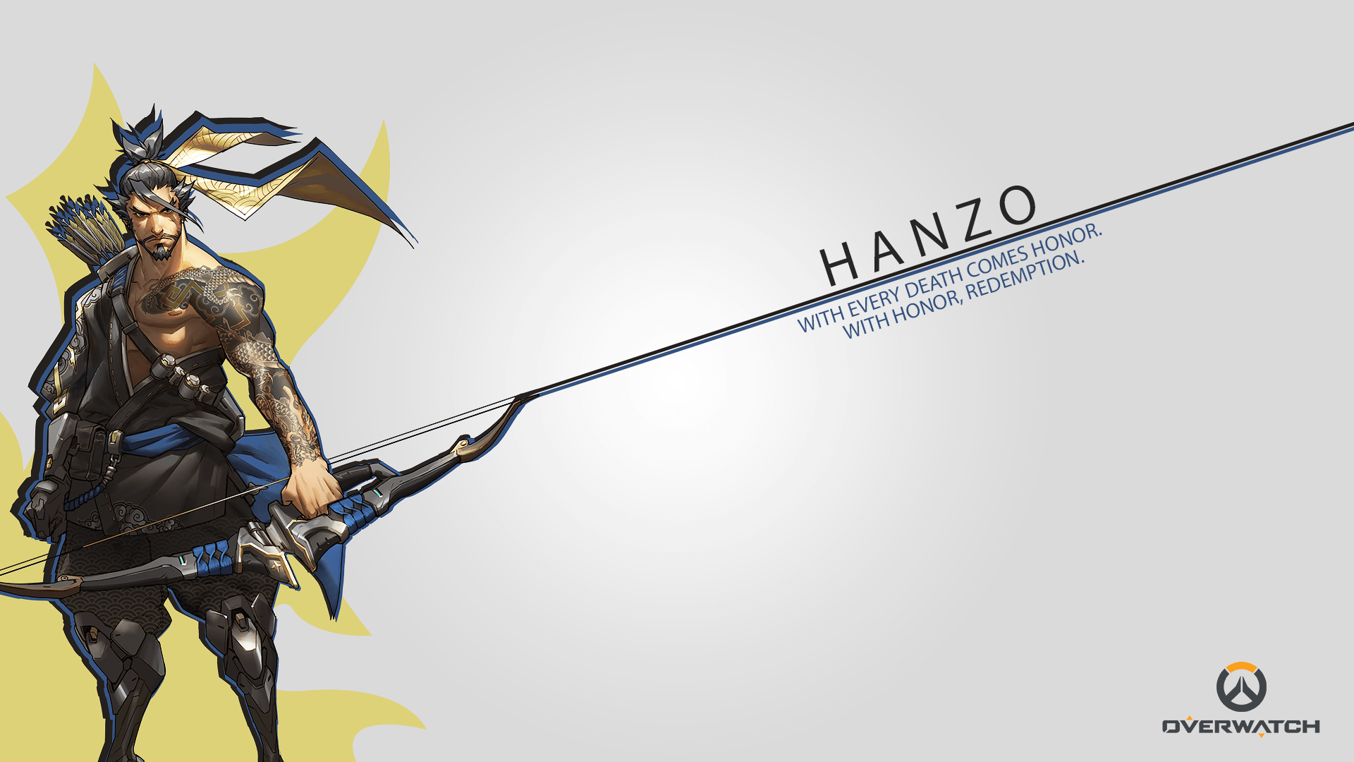 Overwatch : Hanzo Full hd wallpapers