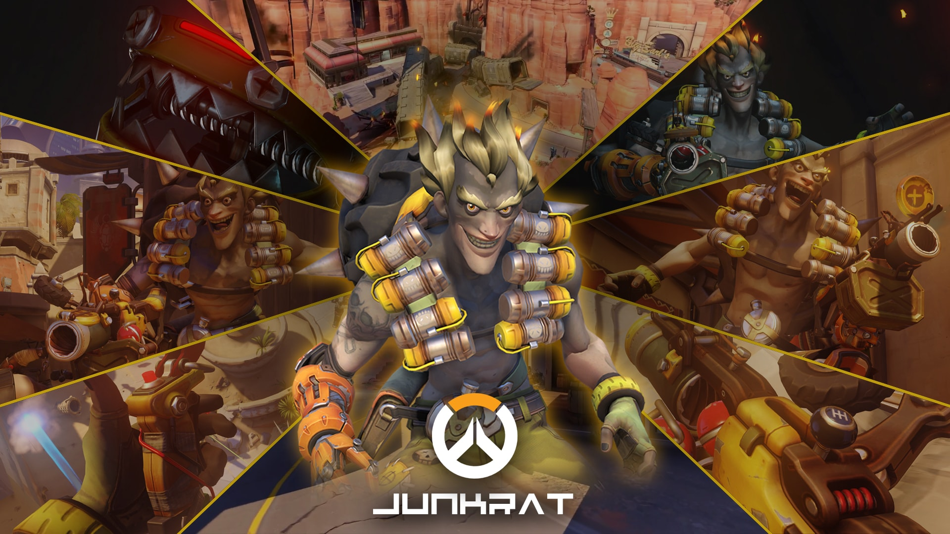 Overwatch : Junkrat Full hd wallpapers