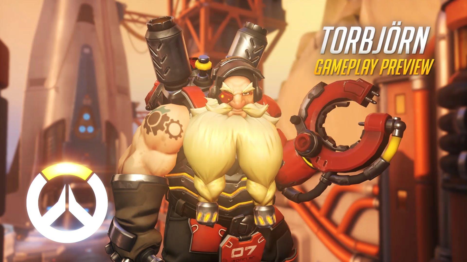 Overwatch : Torbjörn Widescreen for desktop