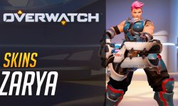 Overwatch : Zarya Desktop wallpaper