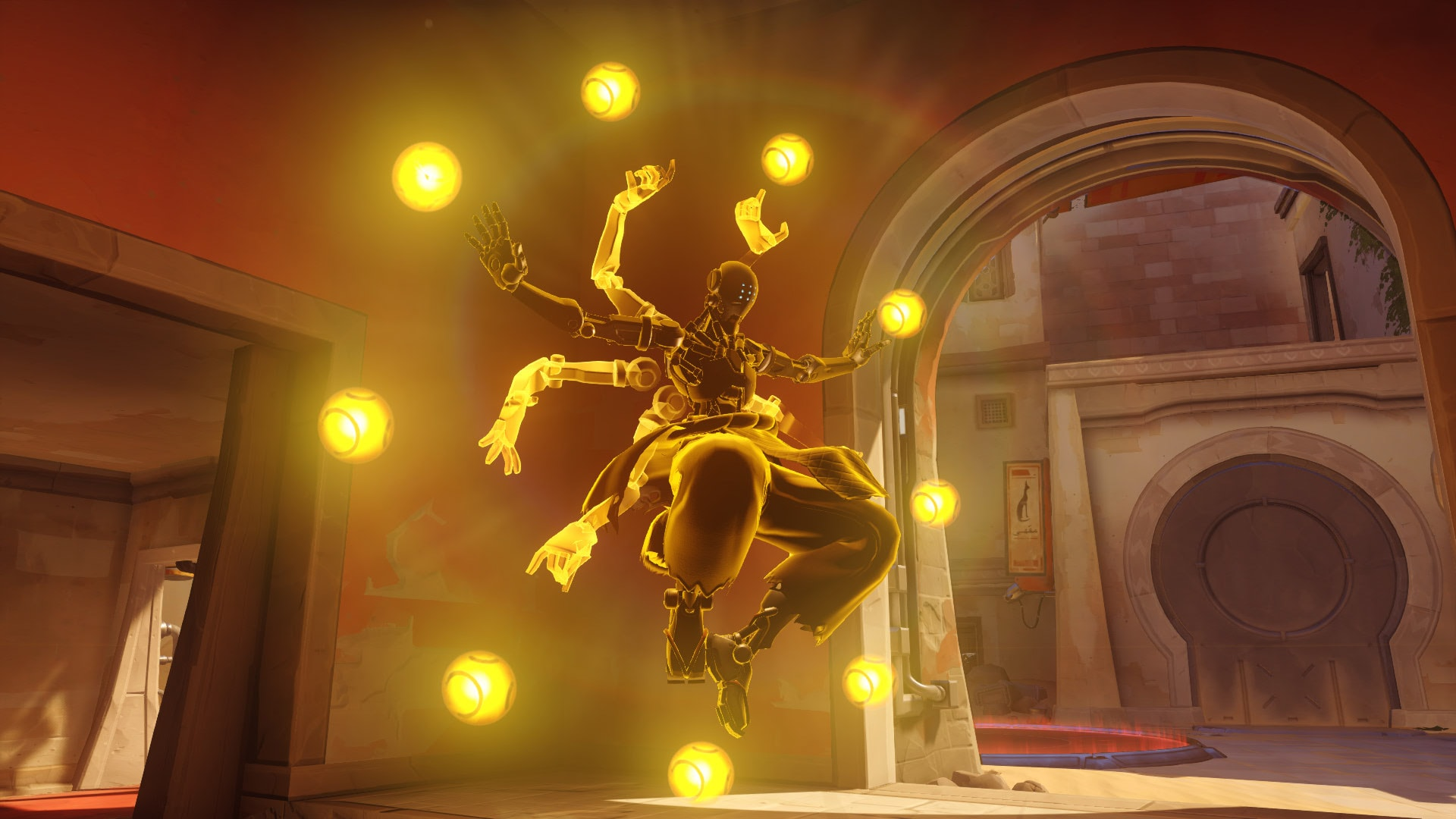 Overwatch : Zenyatta Widescreen for desktop